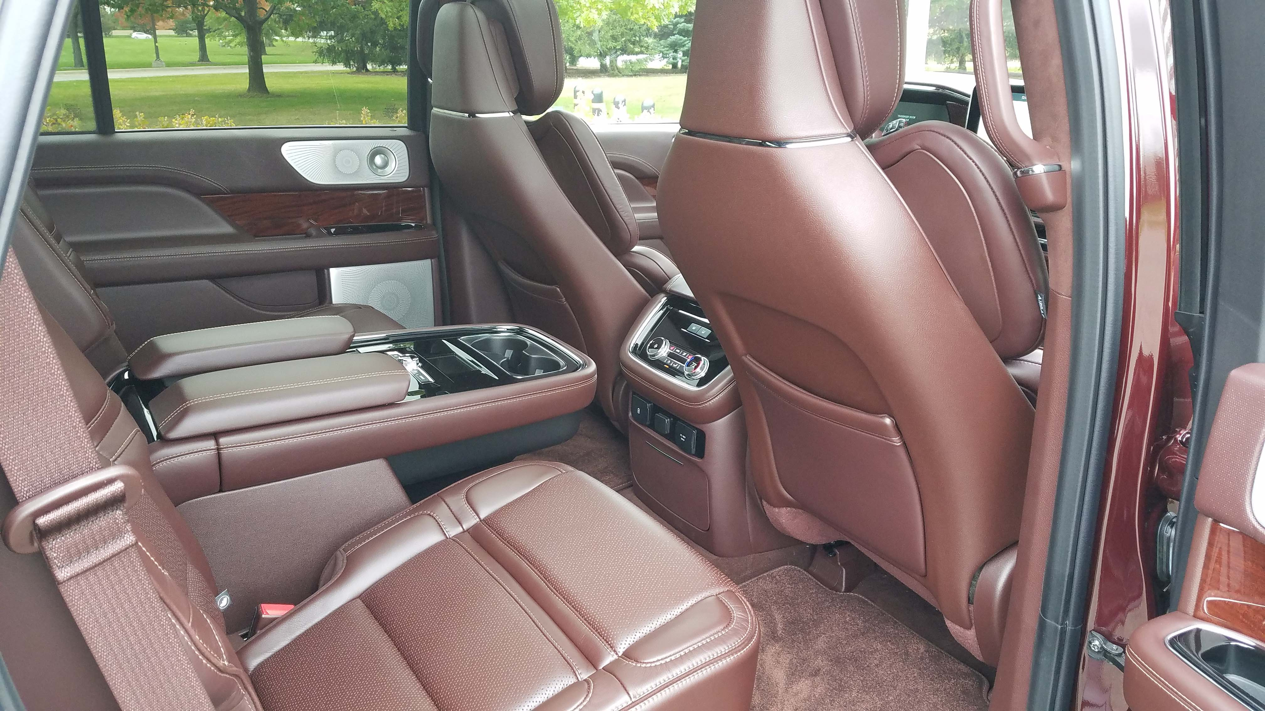 The second-row of the Lincoln Navigator is a sanctuary.