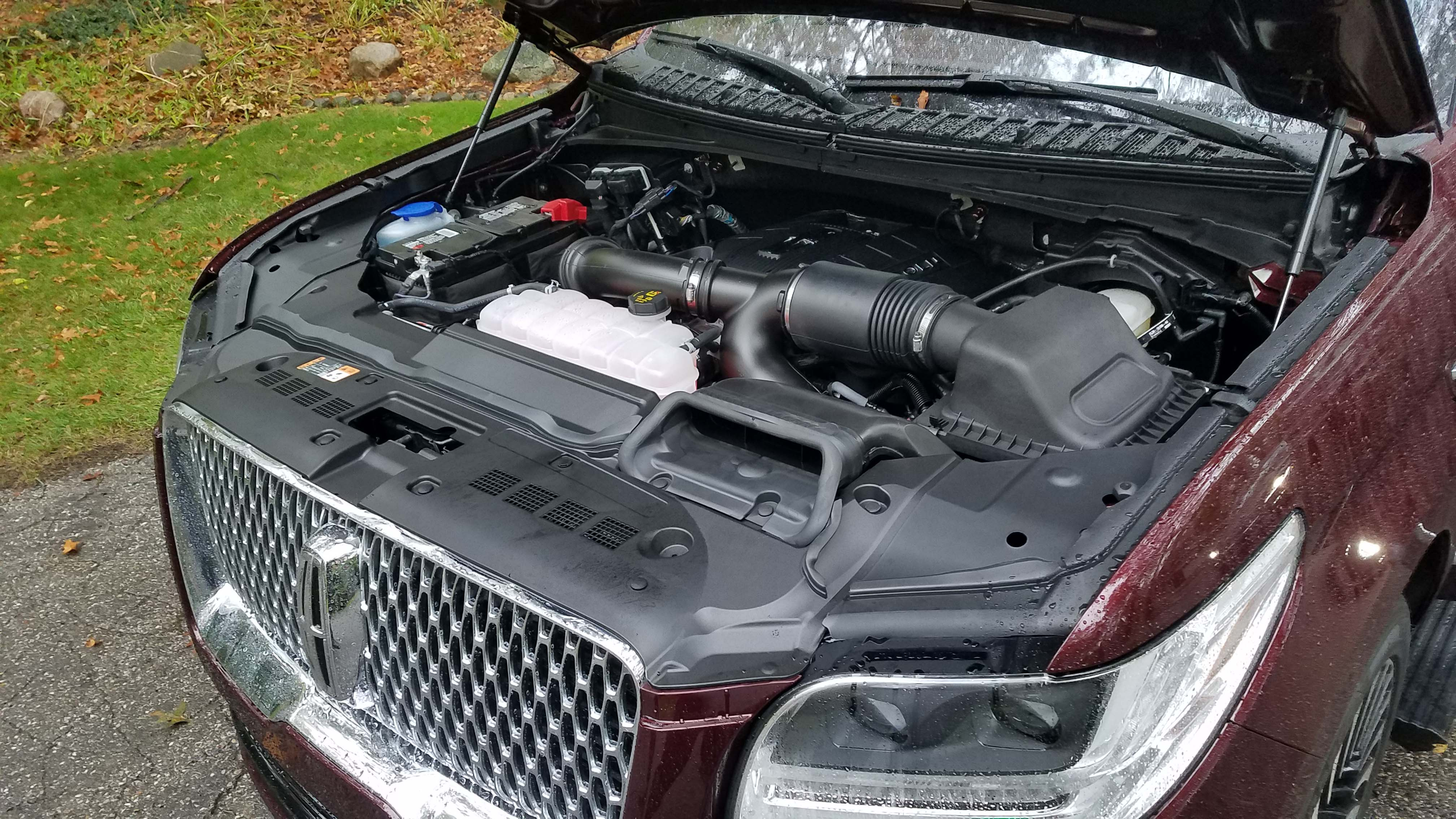 The Lincoln Navigator shares its 3.5-liter, twin-turbo