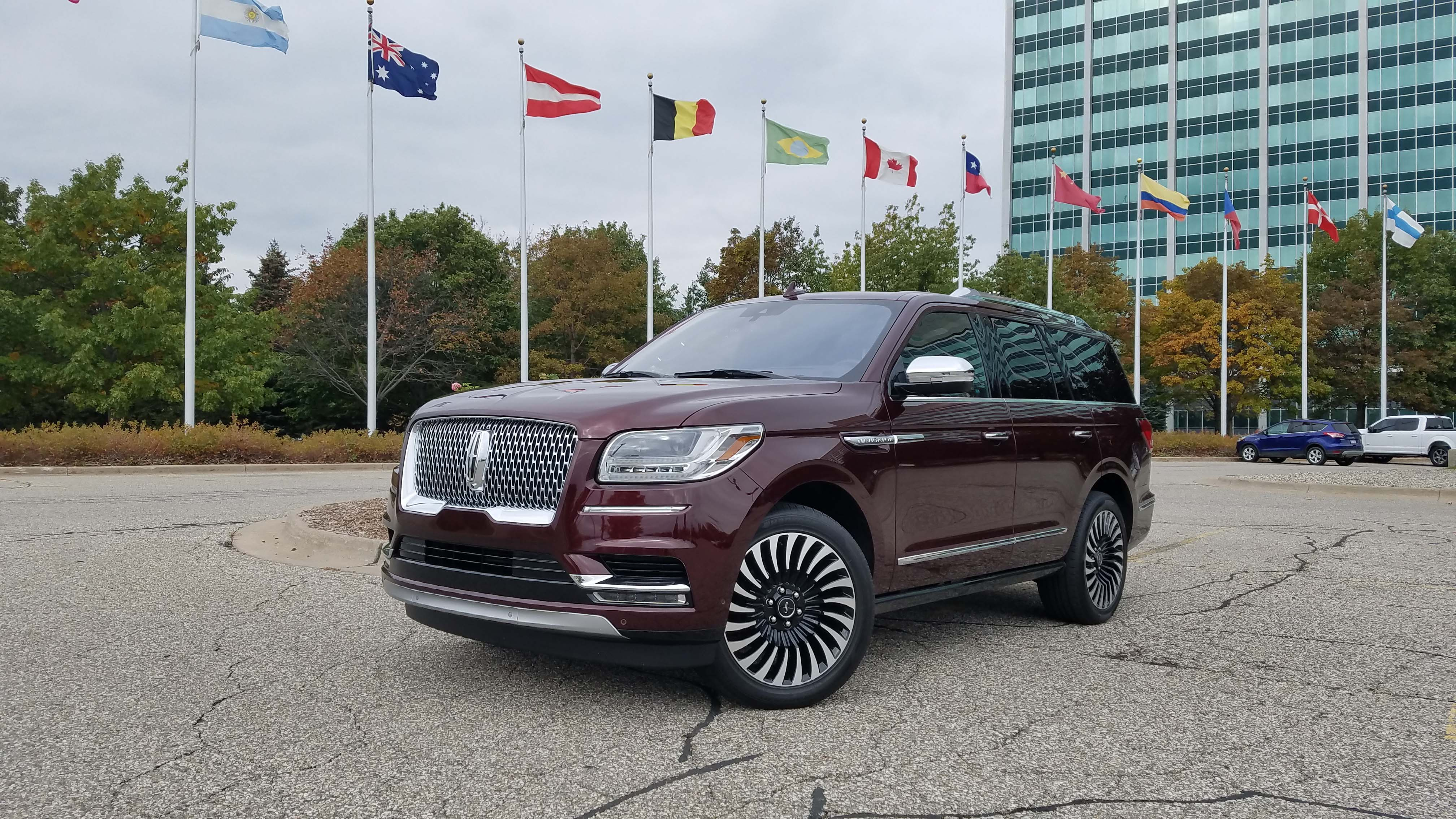 All-new for 2018, the Lincoln Navigator is the first