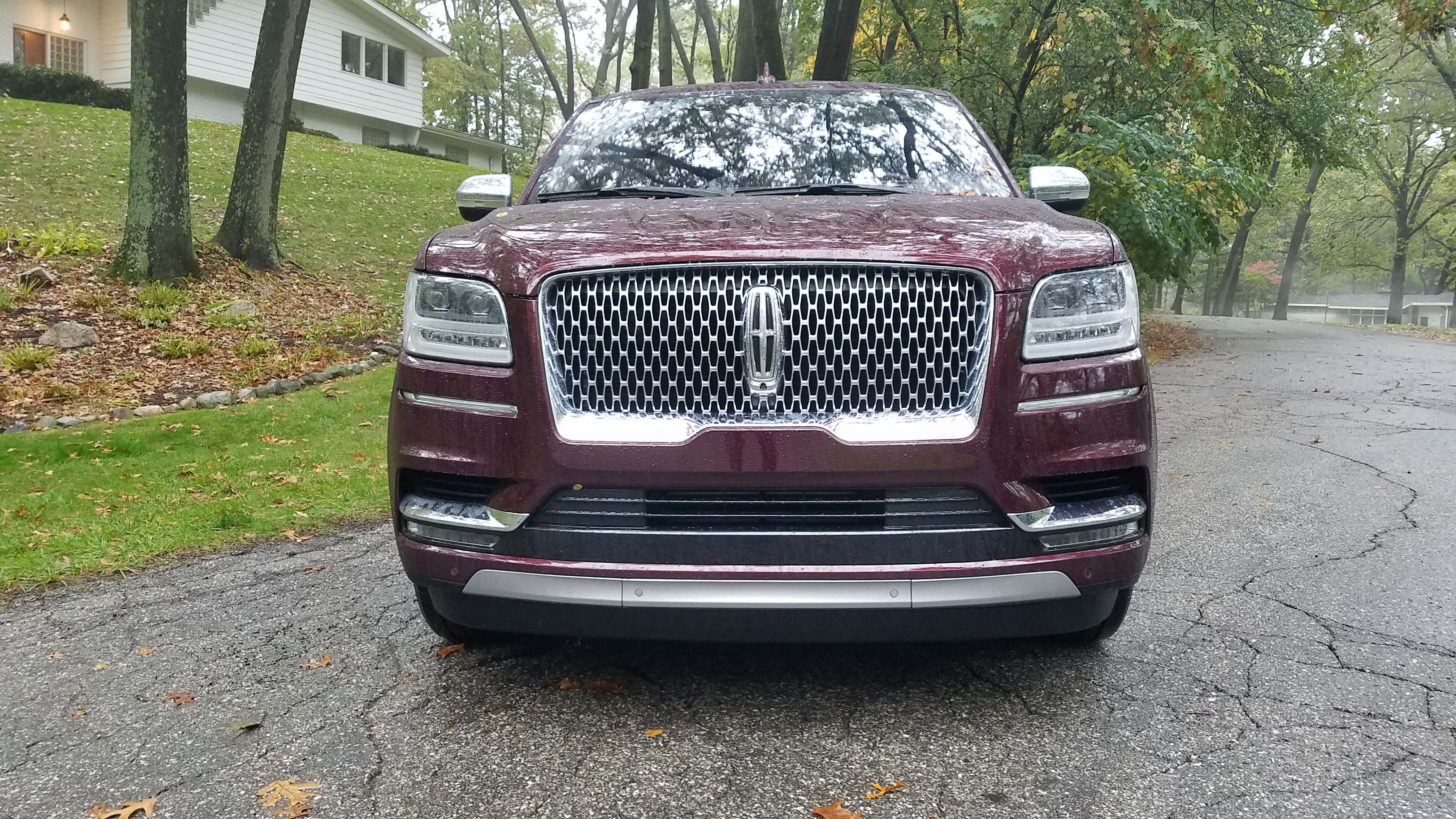 The Lincoln Navigator is the first Lincoln SUV to wear