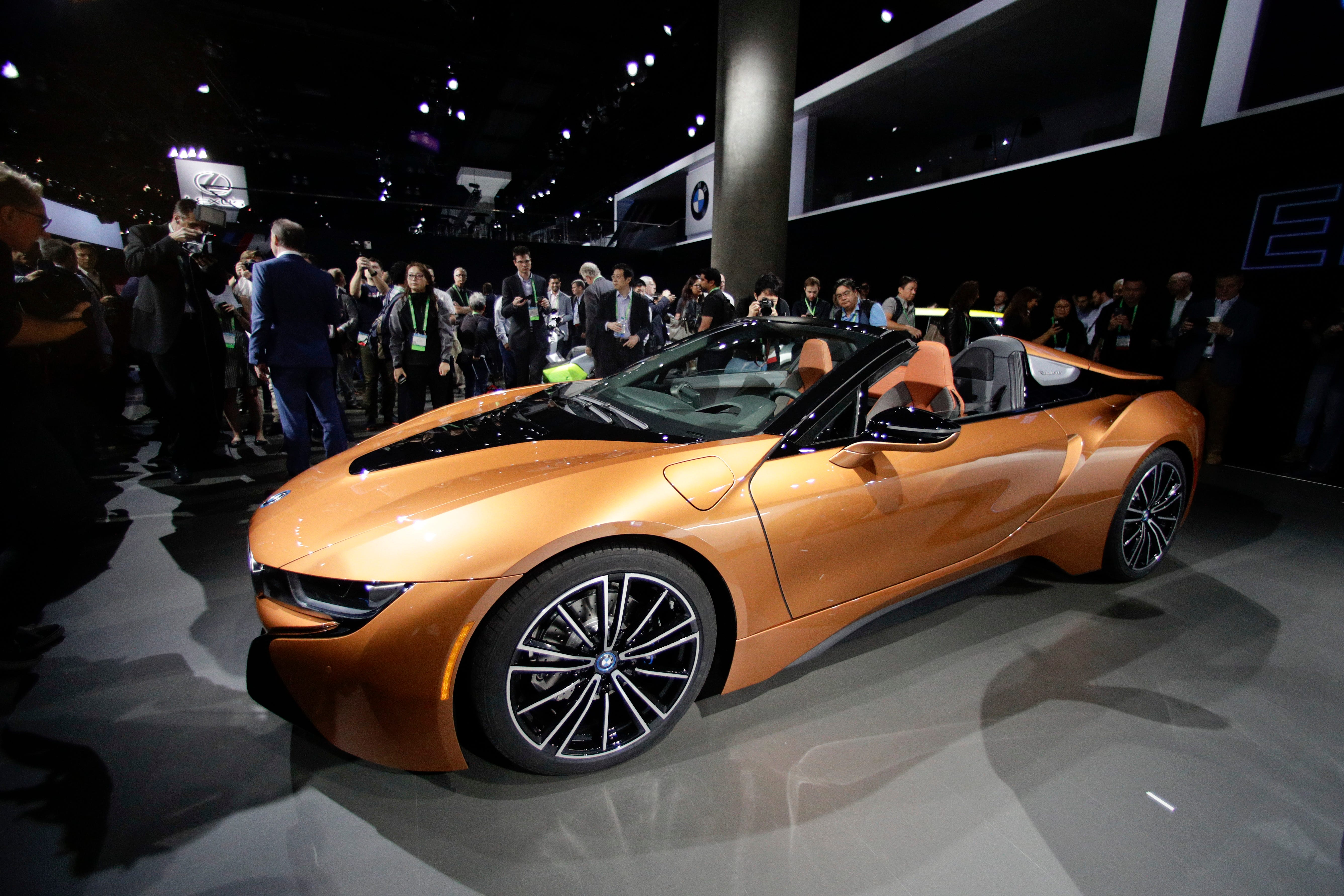 BMW i8 Roadster: BMW dropped a stunning eight new models