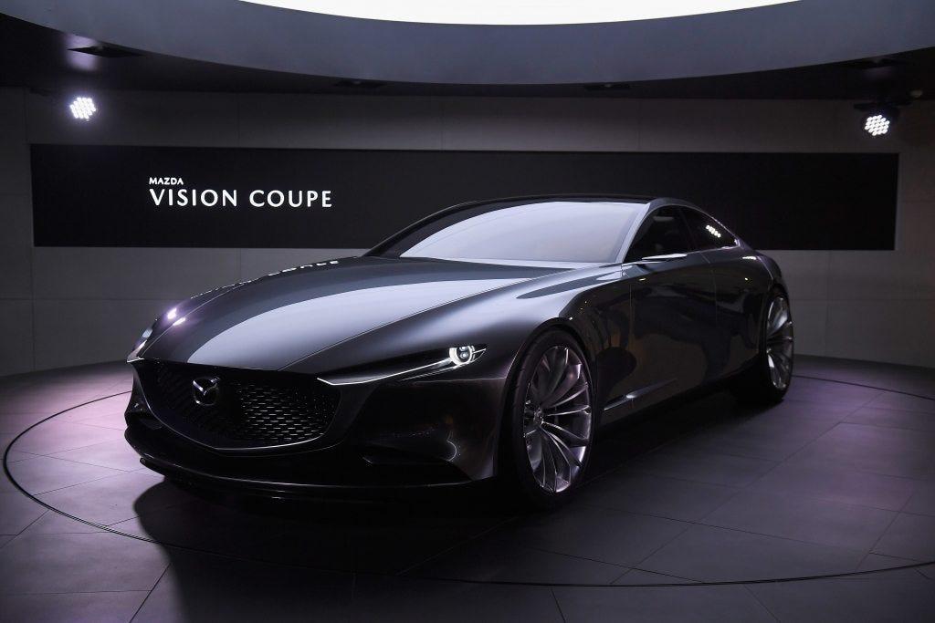 Mazda Vision / 2018 Mazda 6, part 1: I don't normally