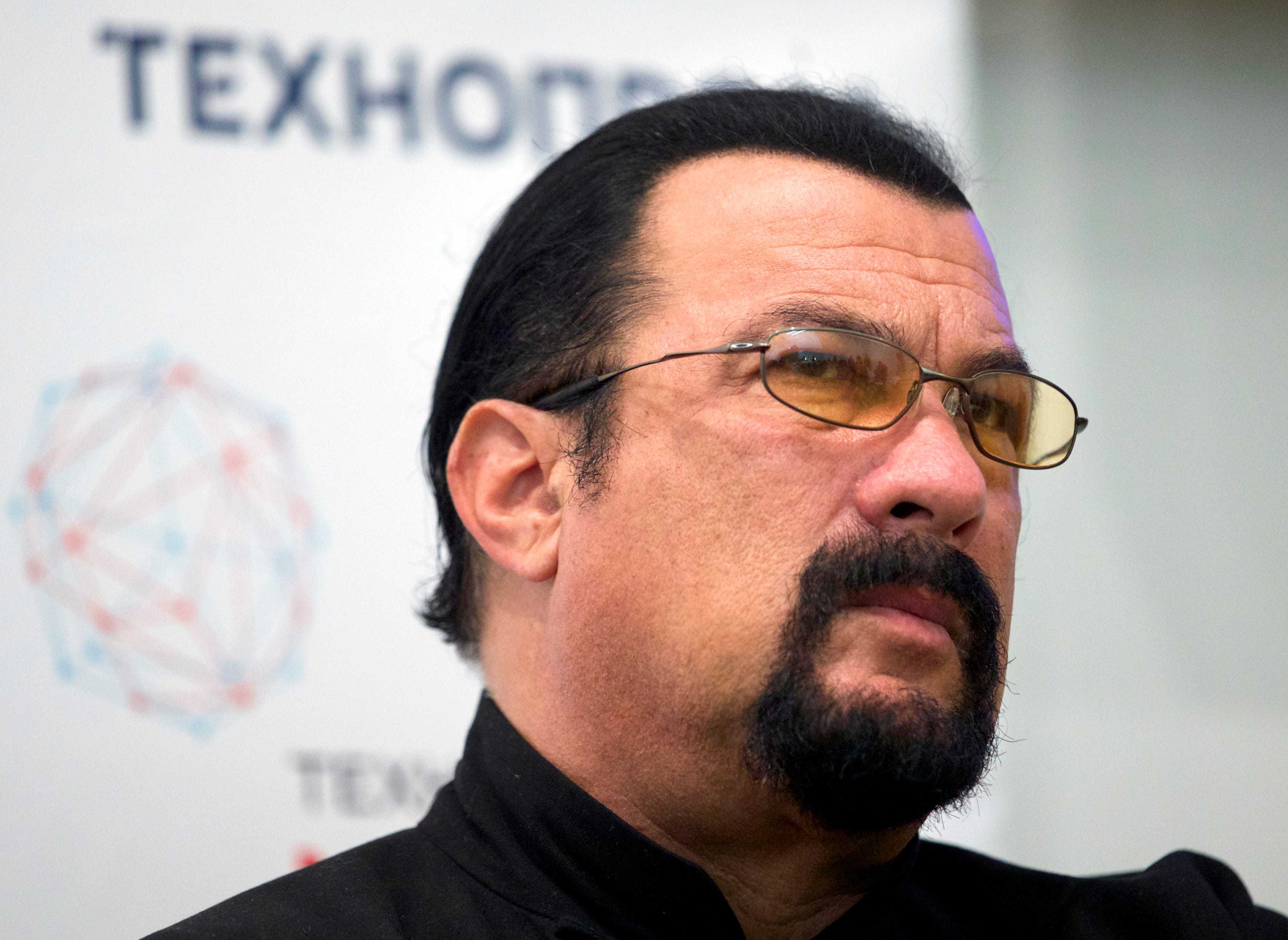Steven Seagal storms out of
