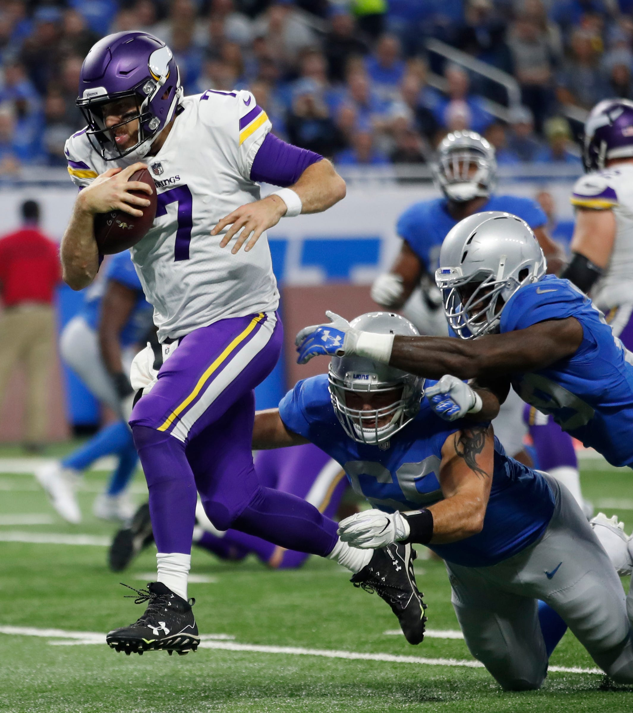 Keenum named NFC Offensive Player of Month for November