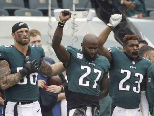 Some Eagles players plan White House visit alternatives