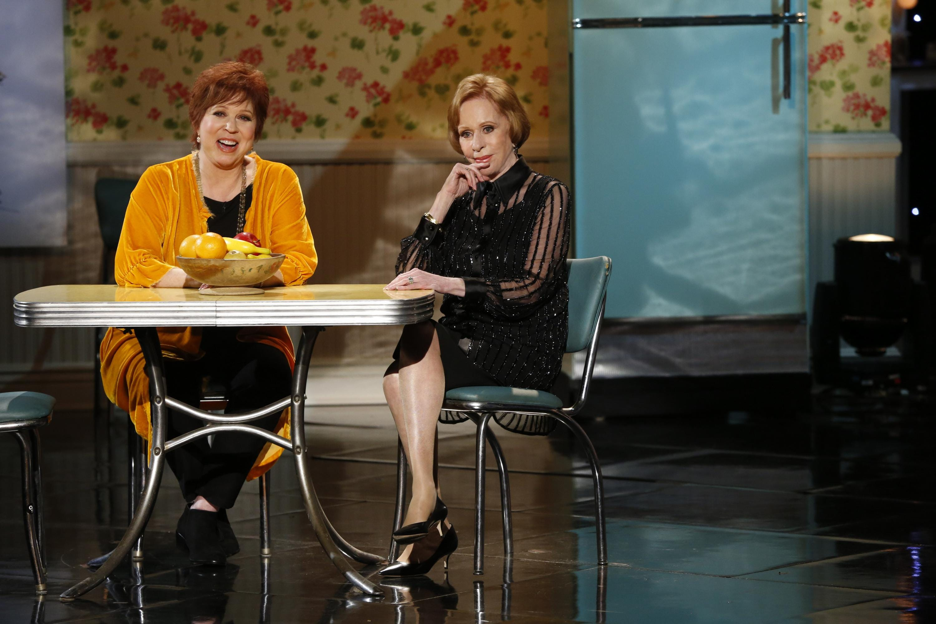 Vicki Lawrence, left, Carol Burnett and other stars