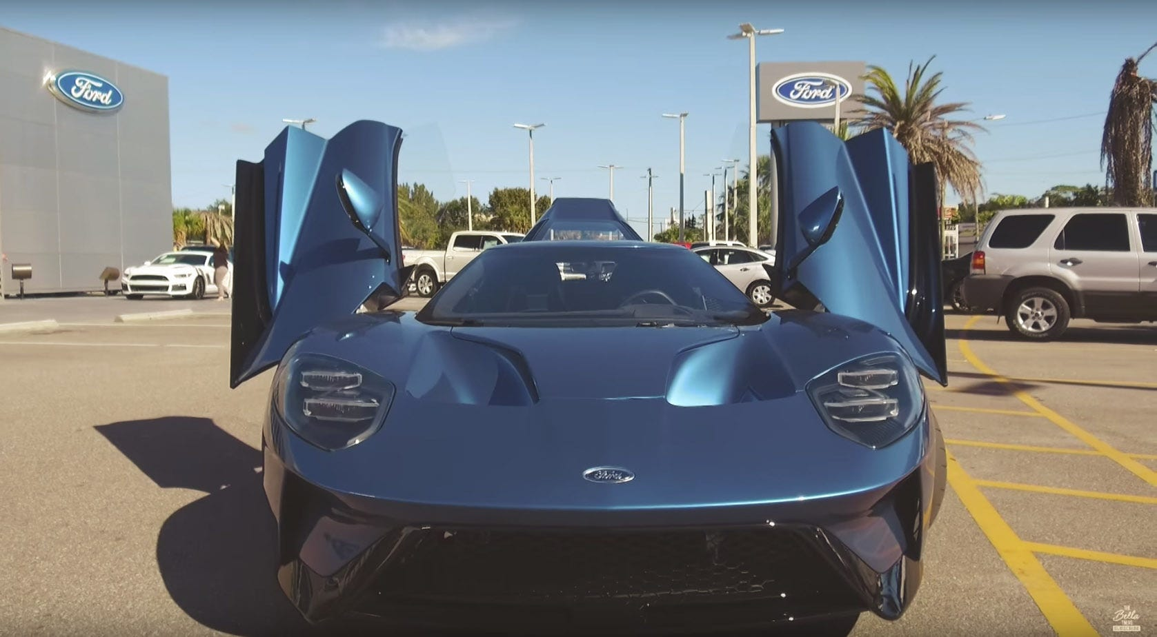 On Nov. 3, Ford offered to buy back the Liquid Blue