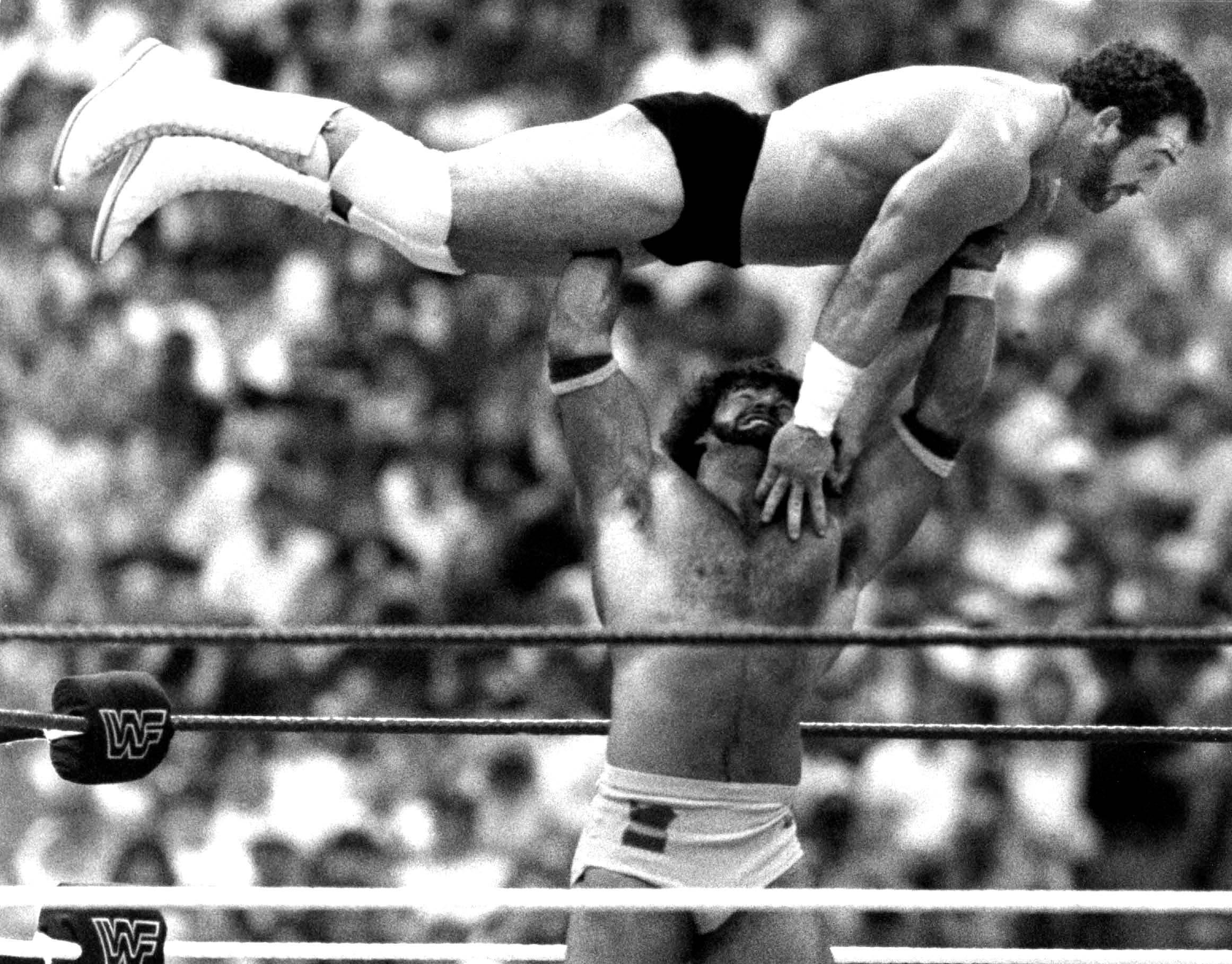 Bill Jack Haynes gives Hercules Hernandez a lift at