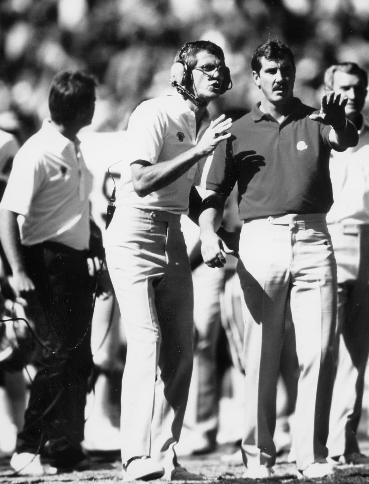 1988–1991   Larry Marmie   22–21–1