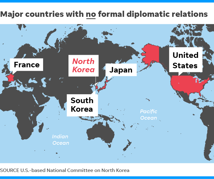 North Korea: These countries have diplomatic ties to Kim Jong Un\'s ...