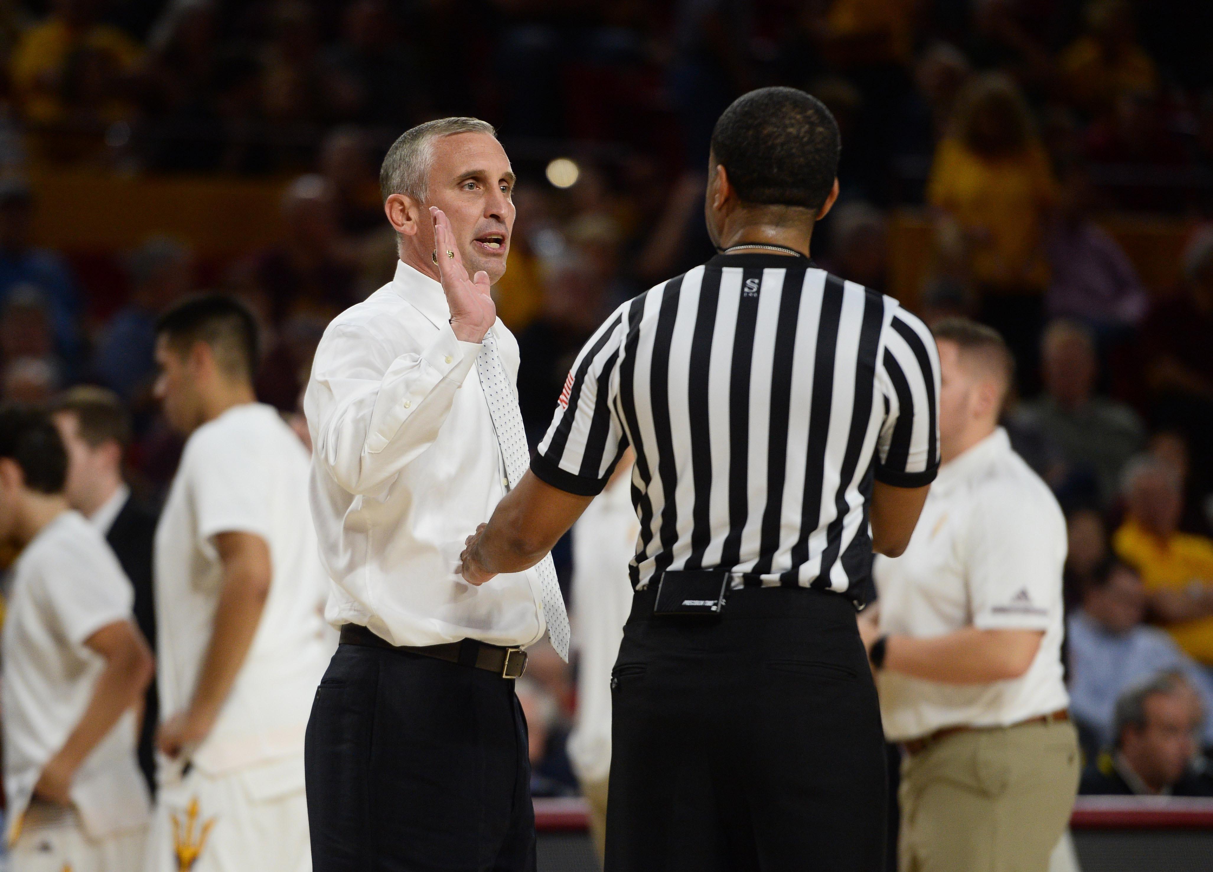 Arizona State Sun Devils head coach Bobby Hurley talks