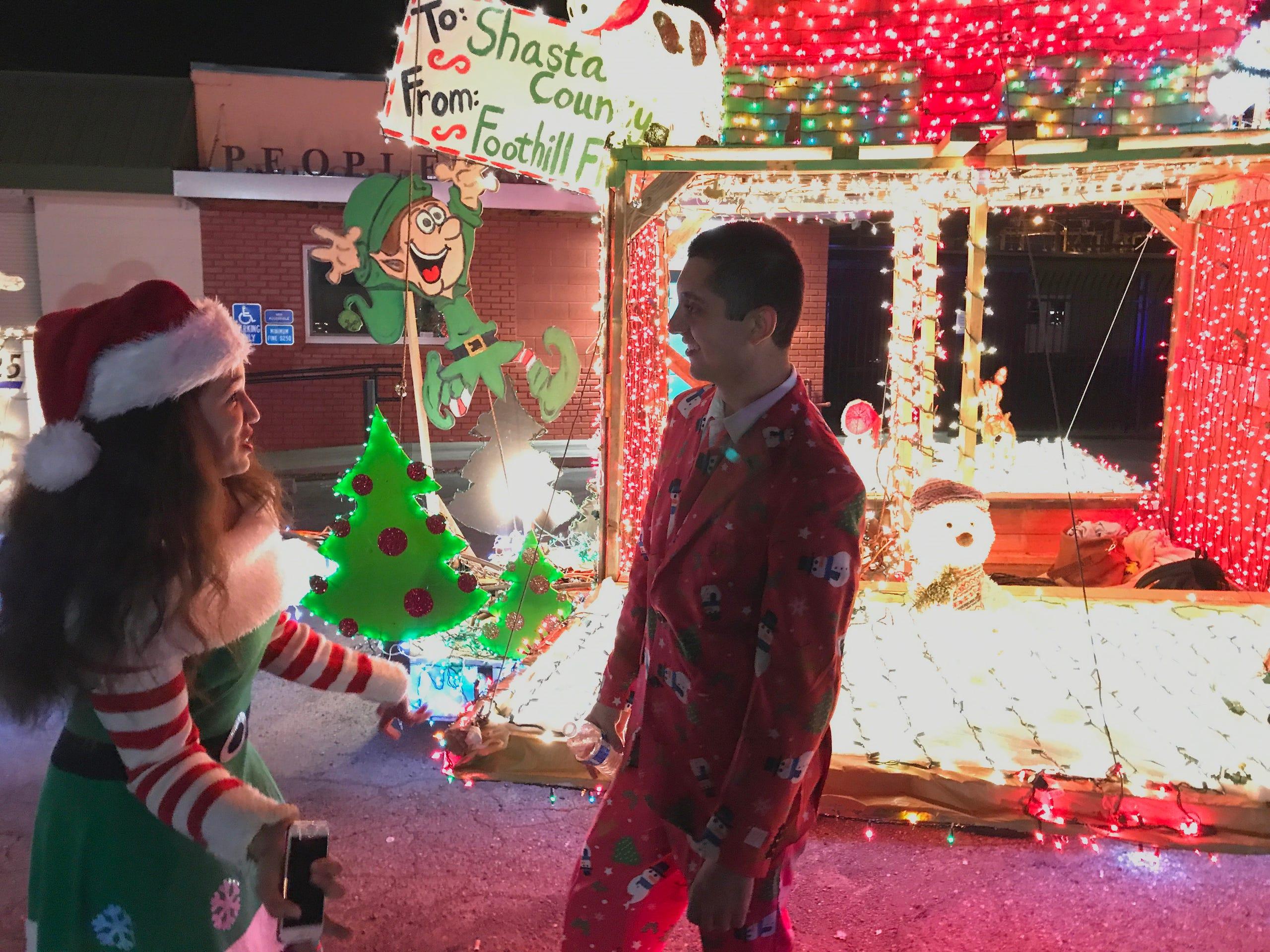 Palo Cedro Christmas Parade 2020 Scenes from 2017 Lighted Christmas parade