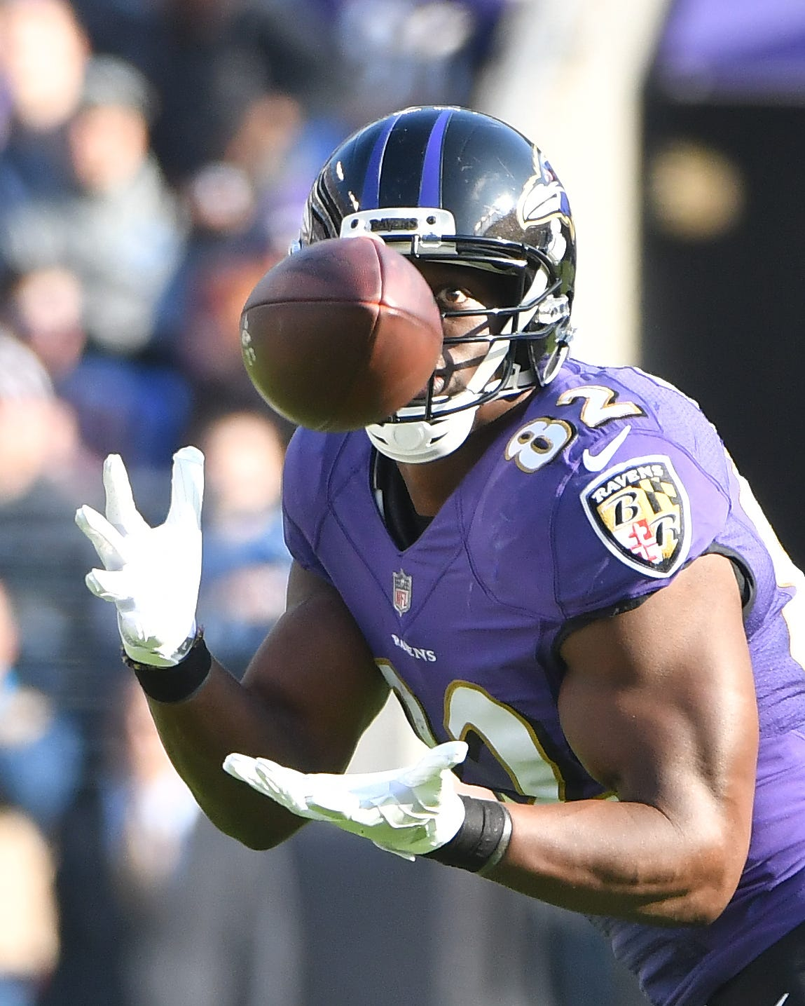 See the ball, be the ball as Ravens tight end Maxx
