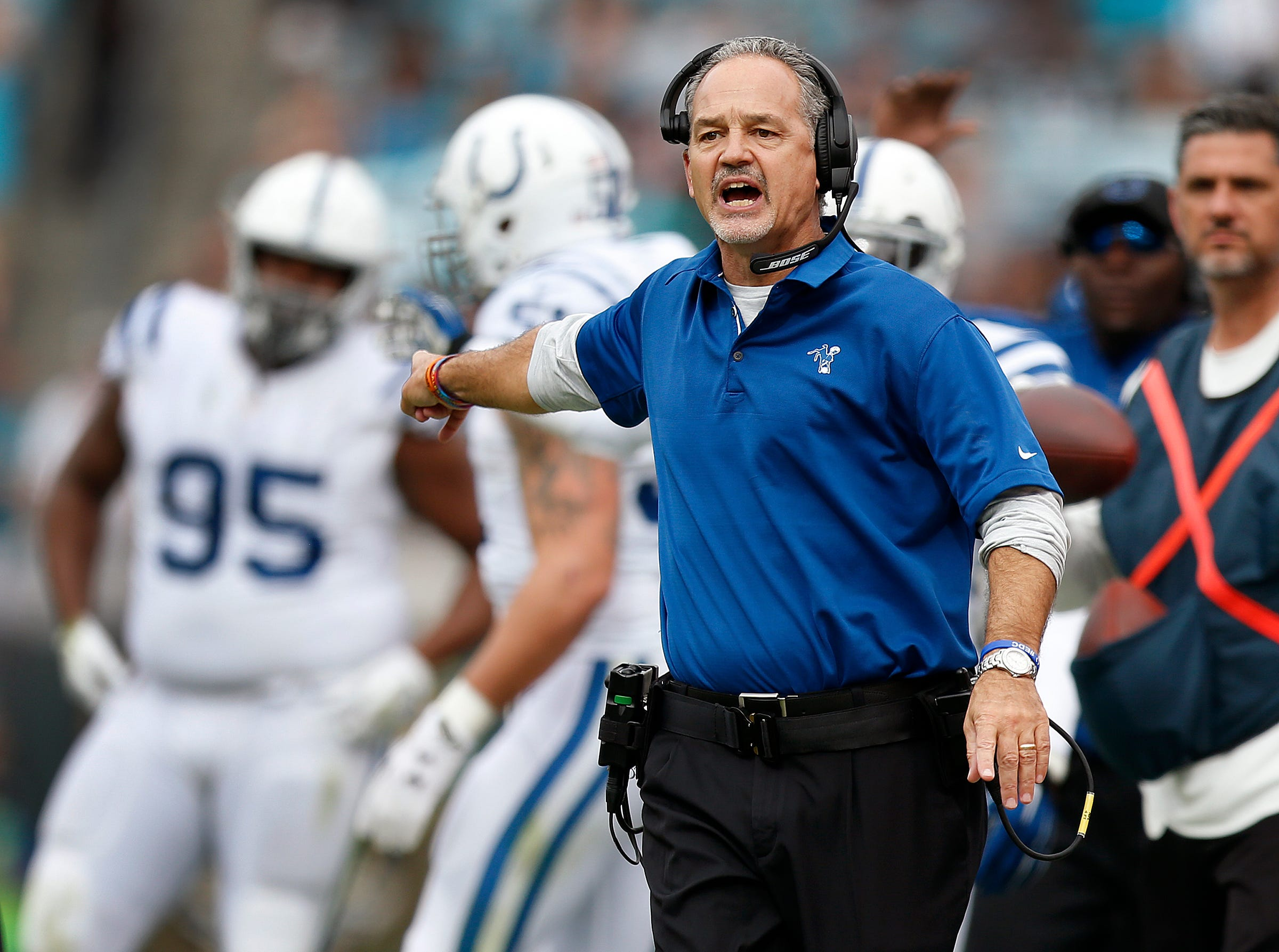 Pagano on Colts QB Luck: 'He's been through hell'