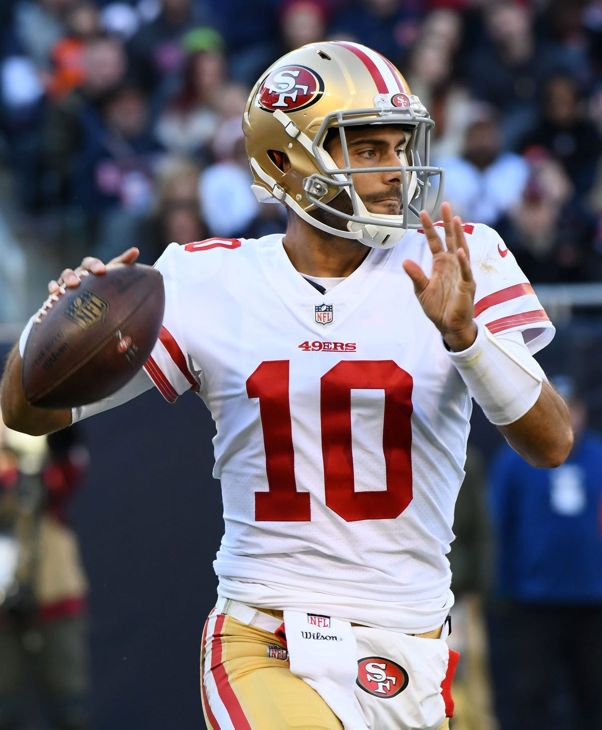 42c2fd71 Jimmy Garoppolo leads the San Francisco 49ers to a last-second victory