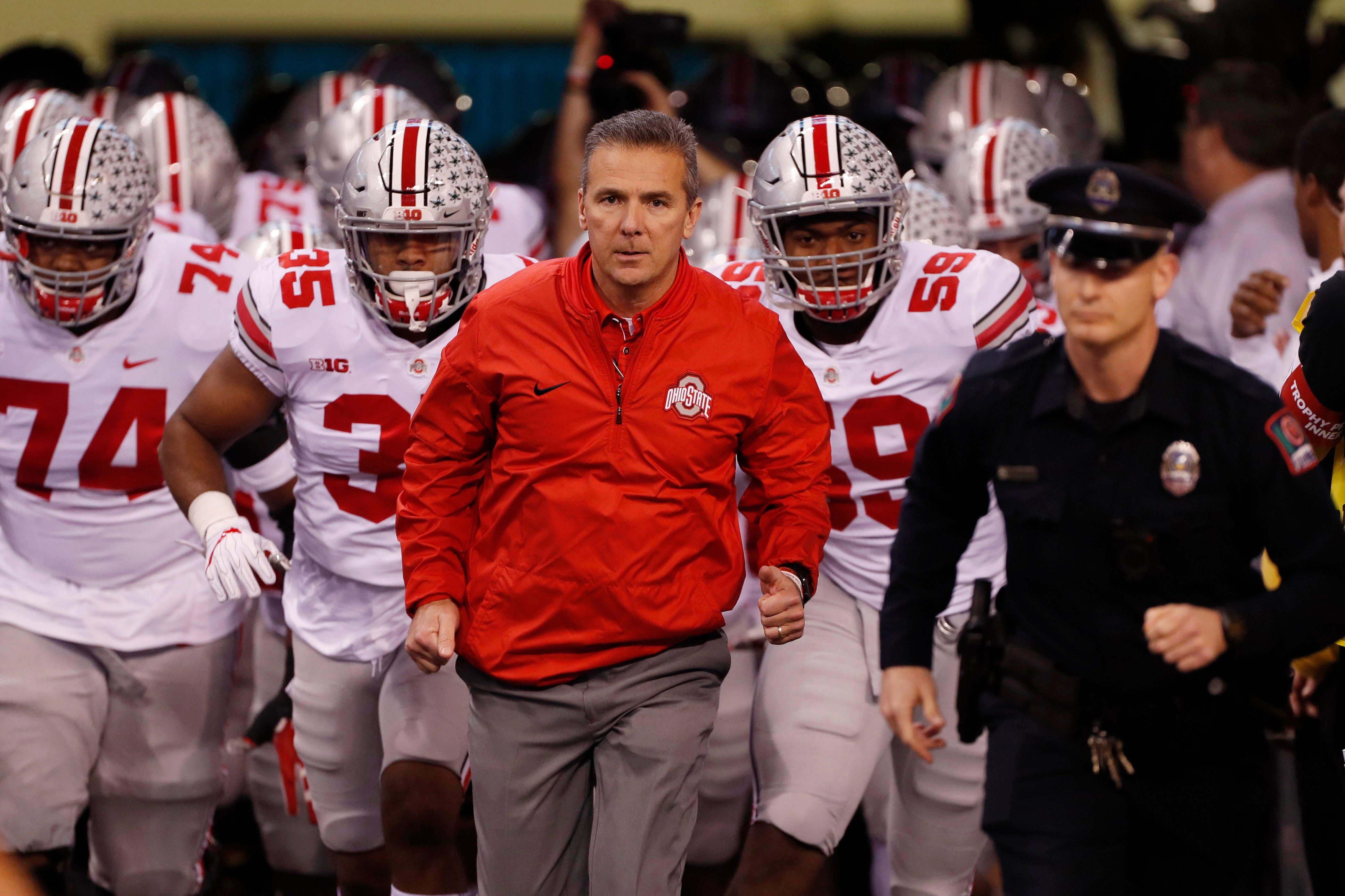 Ohio State suspends football coach Urban Meyer three games; athletic director suspended