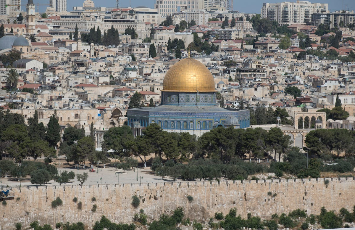 Jerusalem: First settled in 3,000 BC, has changed hands many