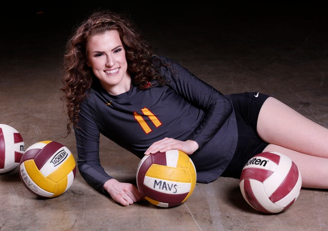 Grace Balensiefer of McCutcheon High School is the 2017 J&C Big School Volleyball Player of the Year.