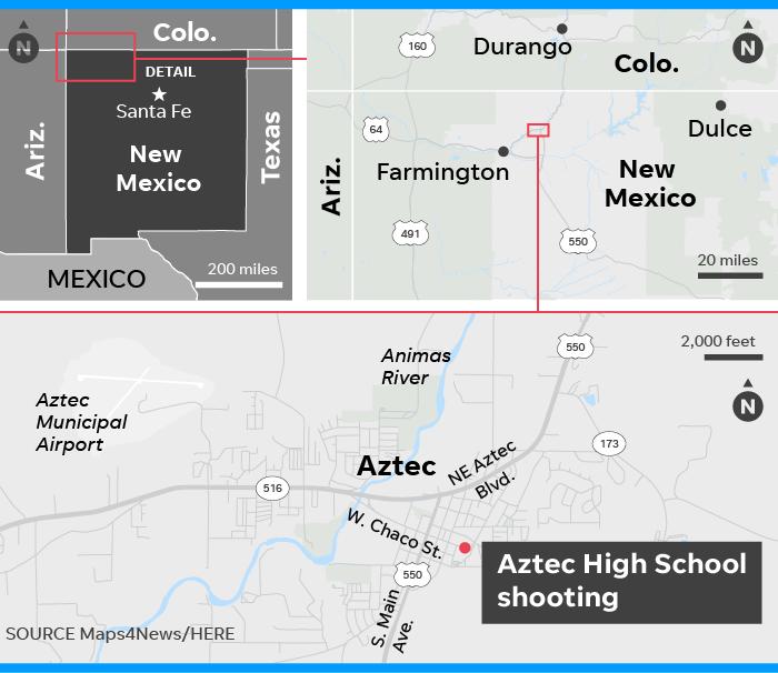 Three Dead After Aztec High School Shooting