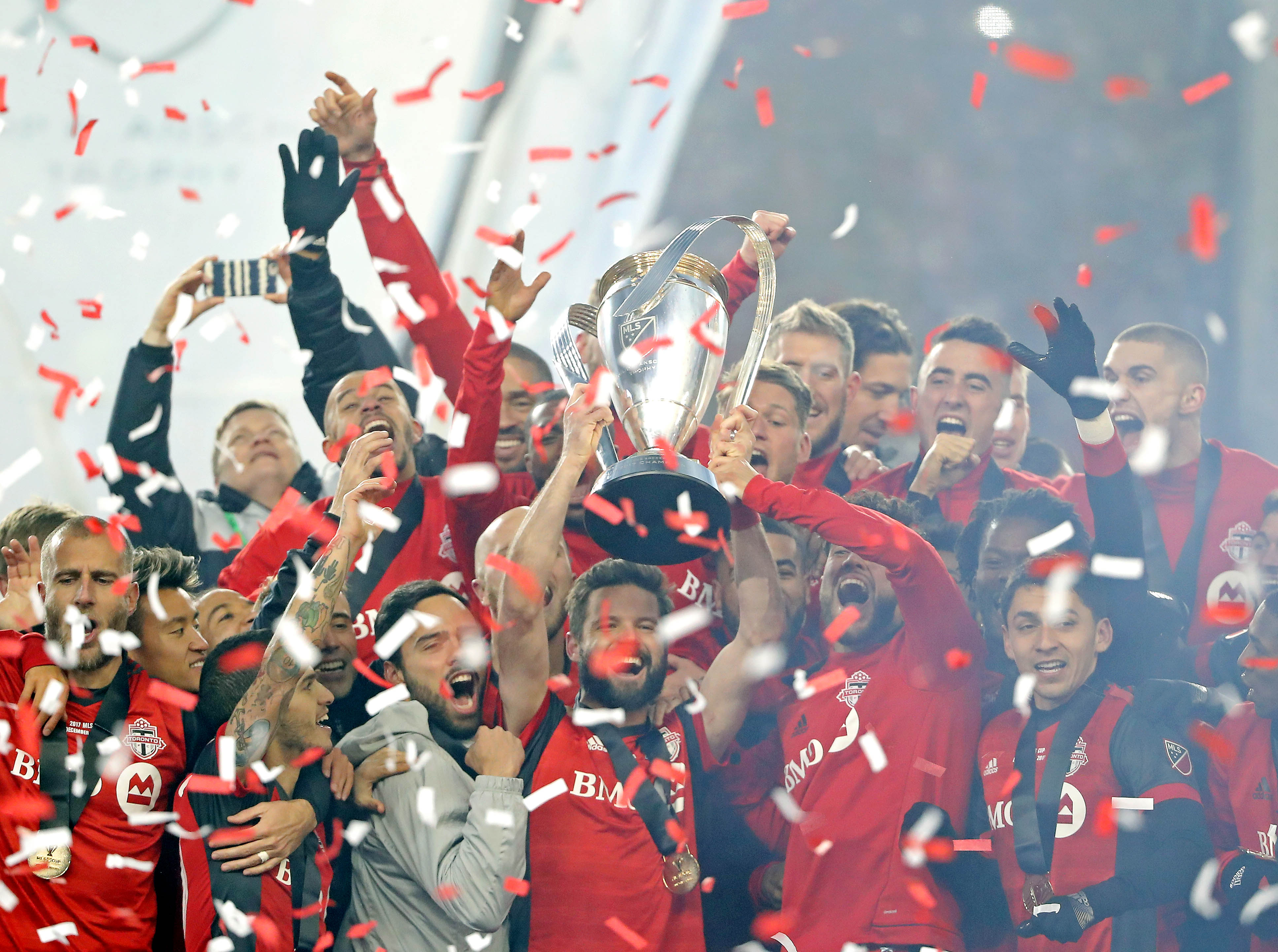 See Toronto FC's epic champagne celebration