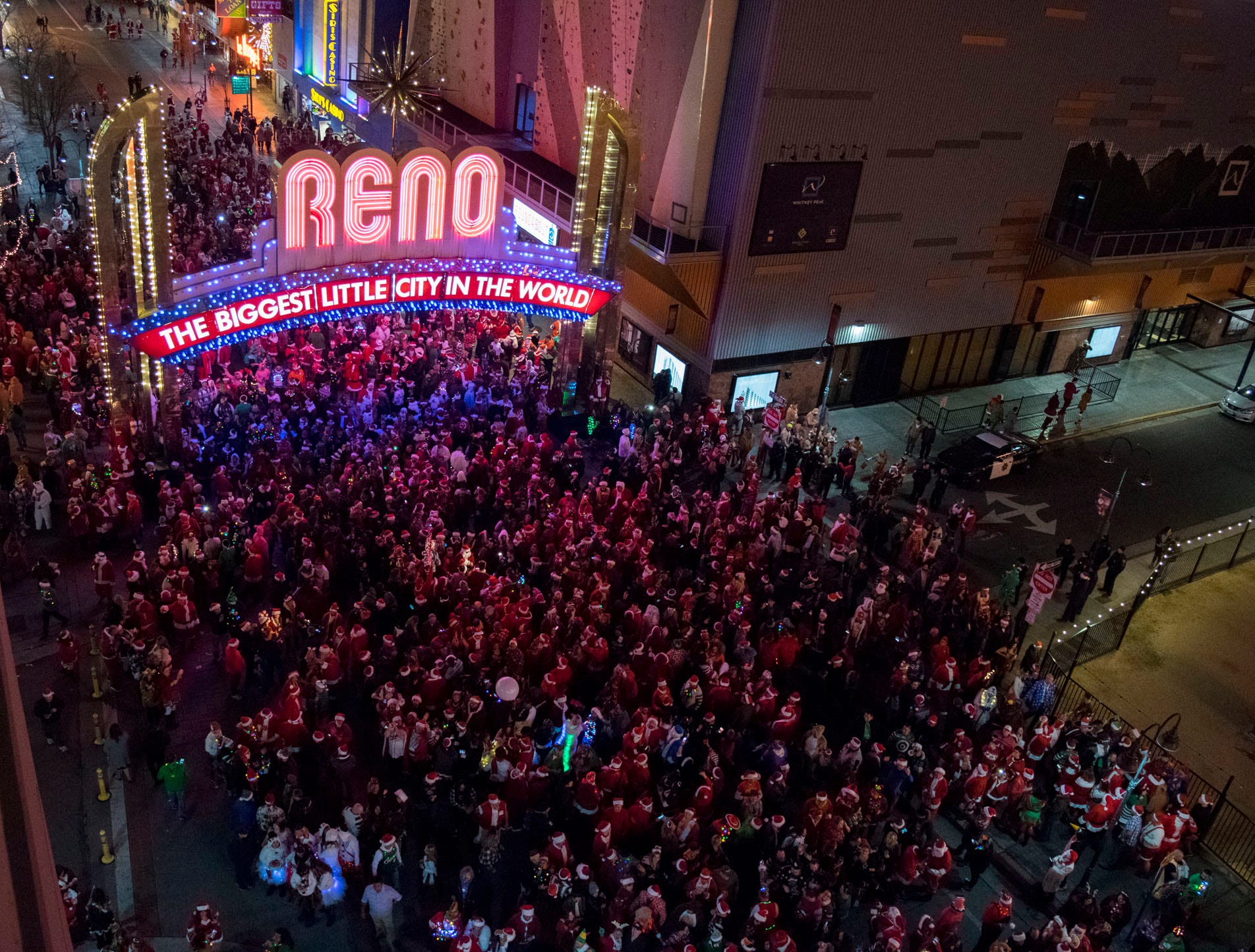 Reno Police: 28 arrested, 65 citations given during 2018 Santa Crawl   Reno Gazette Journal