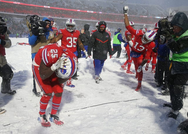 Snow Bowl 2017 Photos Buffalo Bills Vs Indianapolis Colts