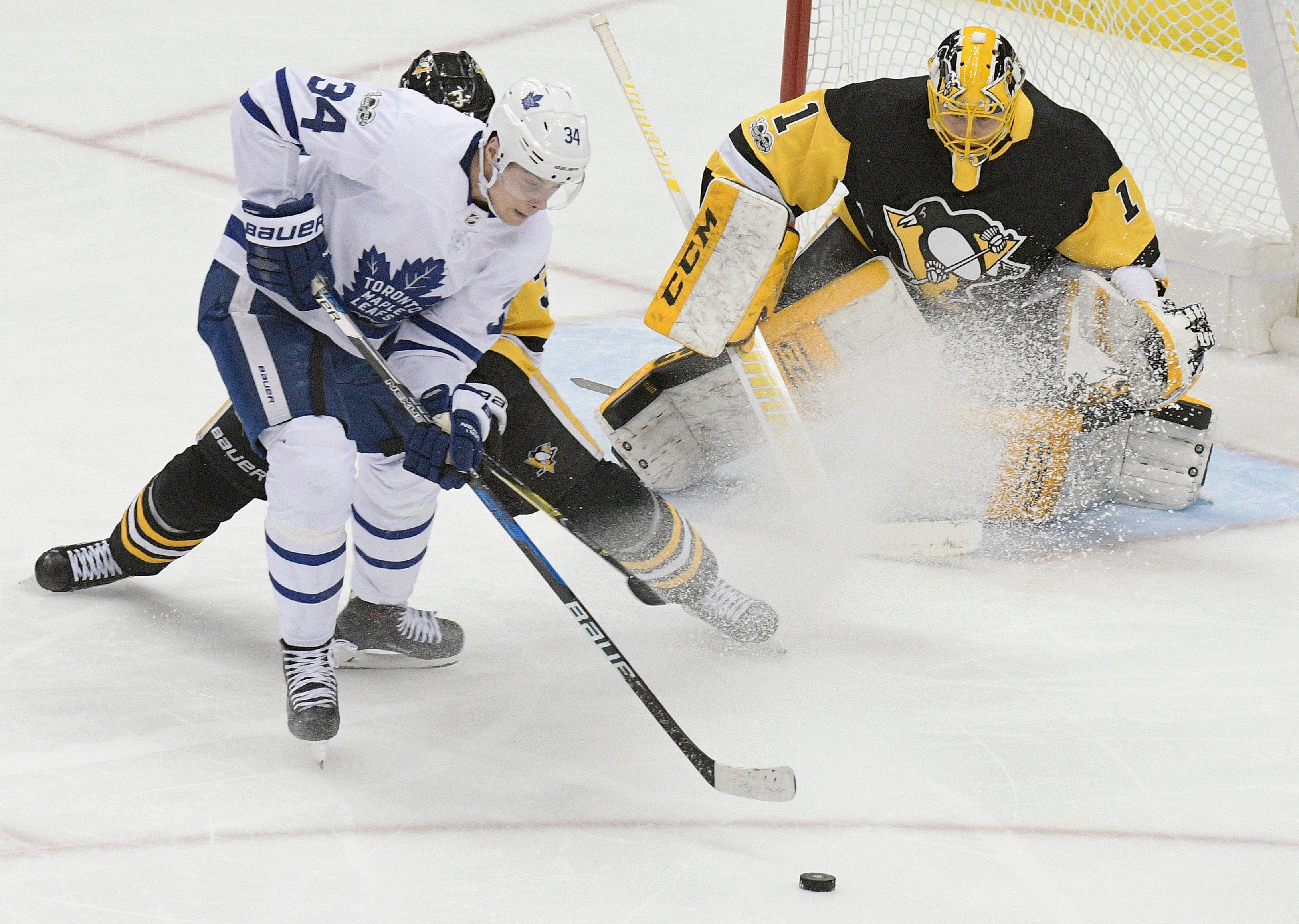 Auston Matthews out for Maple Leafs' game against Oilers
