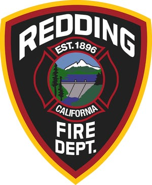 Redding Fire Department logo.