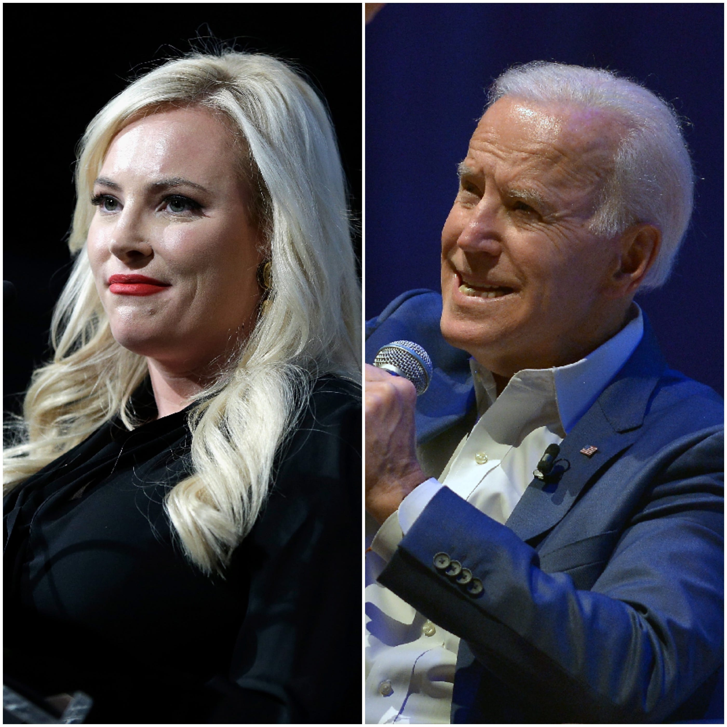 'The View': Joe Biden Tells Meghan McCain, 'If
