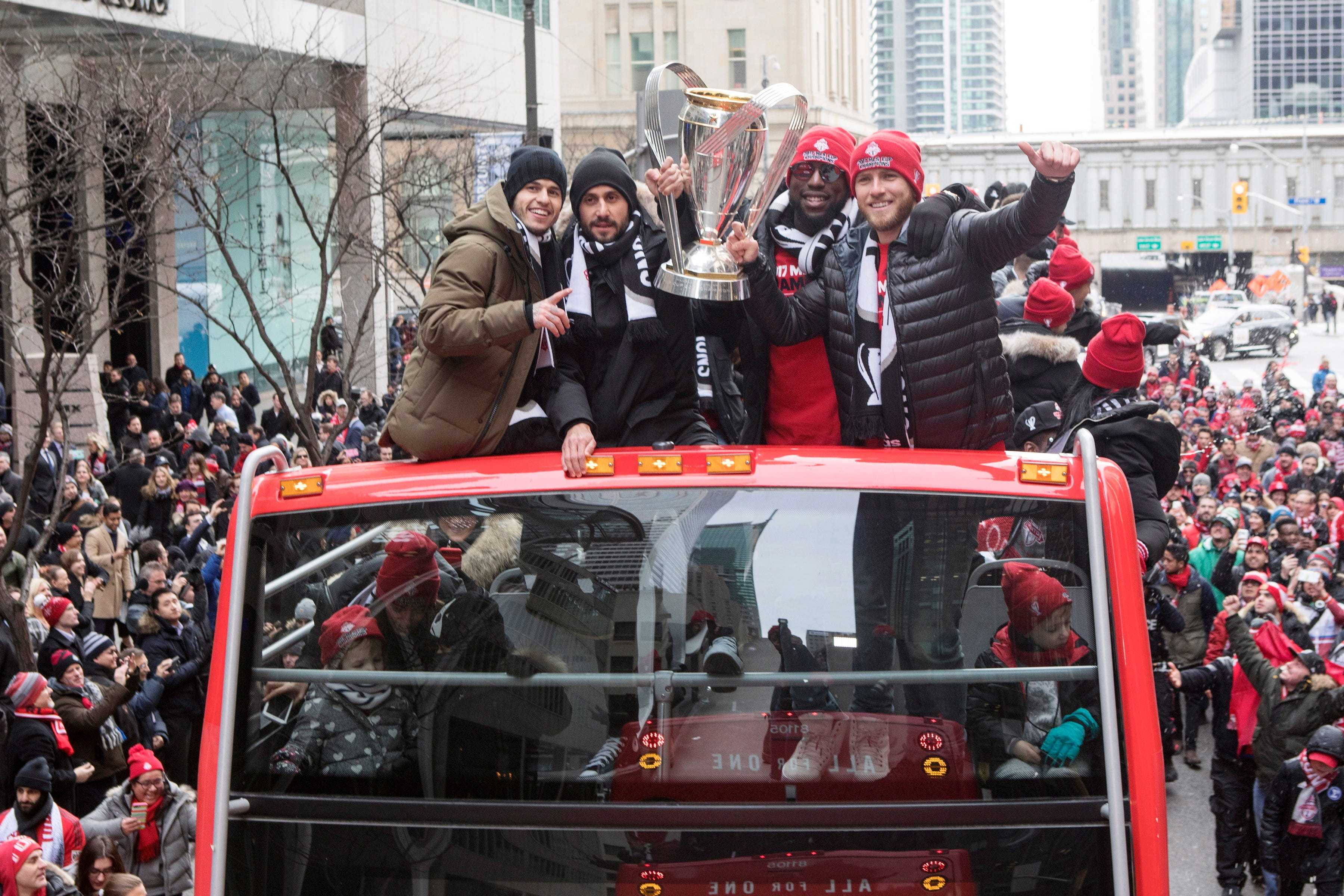 US star Jozy Altidore happy with MLS champ Toronto