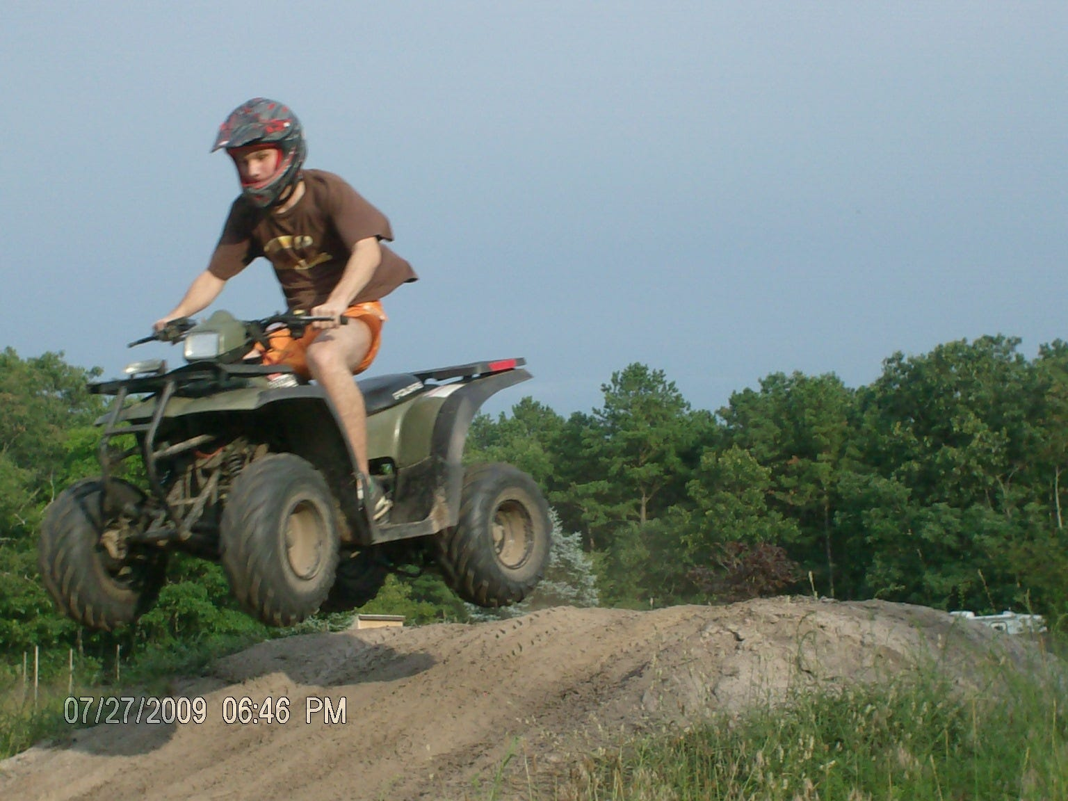 Michael Riley, shown here riding an all-terrain vehicle on a family vacation, was well enough to stay home by himself while his parents worked. After experiencing violent outbursts, the 26-year-old was prescribed multiple medications that left him unable to feed or bathe himself during a brief stay at home in 2017. After much intervention by his parents, he was eventually stabilized with fewer medications and returned home to his family, after more than a year at Ancora Psychiatric Hospital.