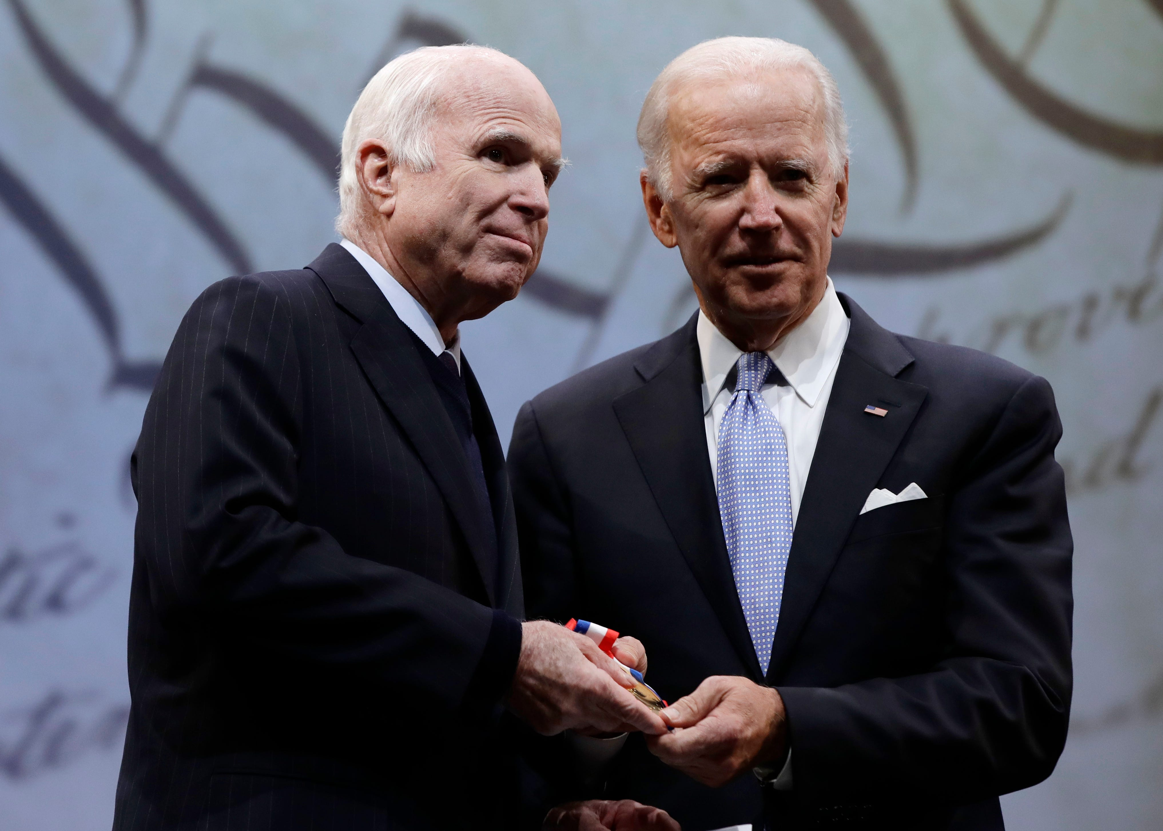 John McCain: Why Joe Biden will eulogize his longtime friend. 'If he needed my personal help, I'd go'