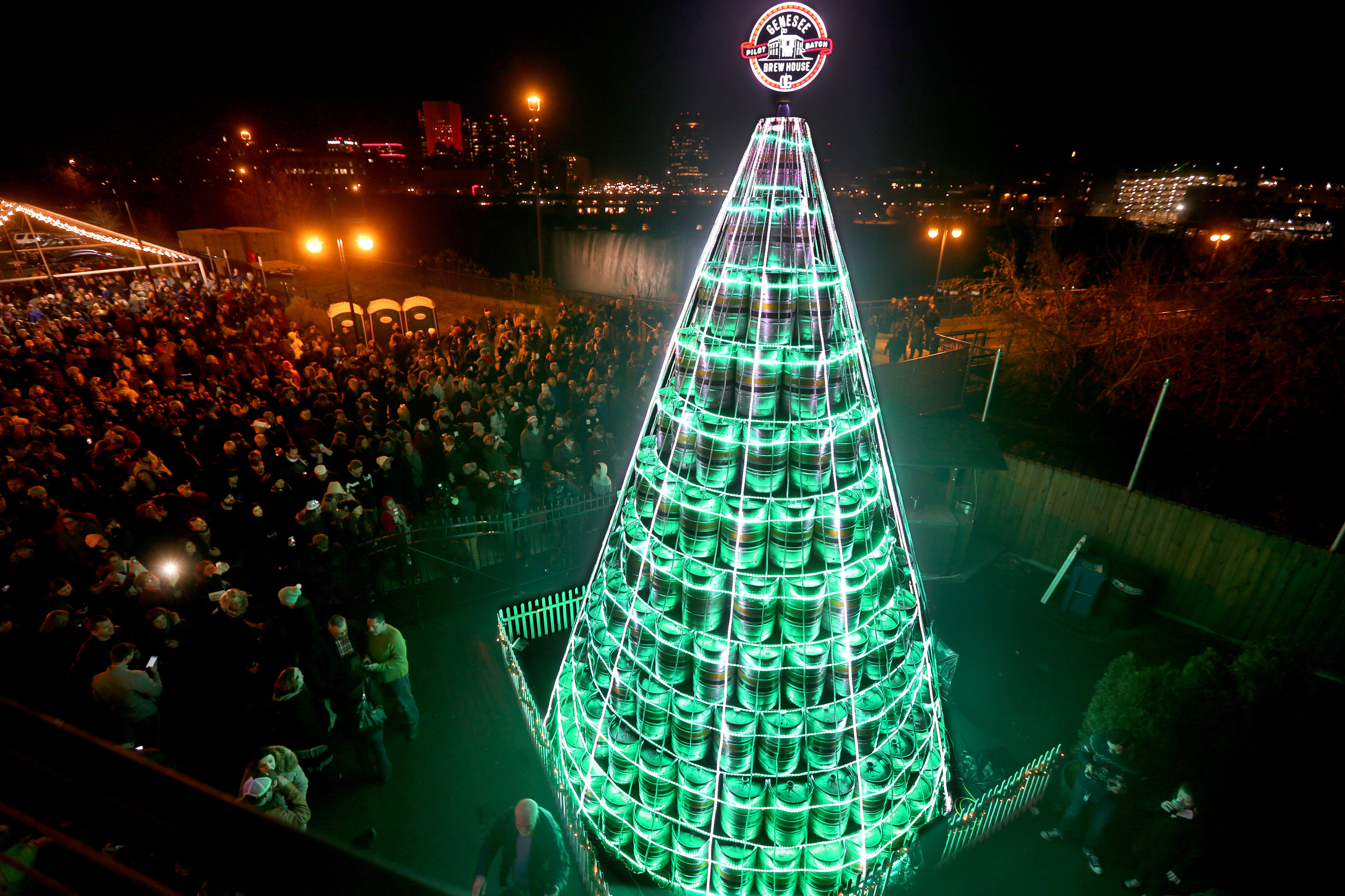 The annual holiday keg tree and the Genesee Brew House have really enriched the connection between the community and the brewery on St. Paul Street.