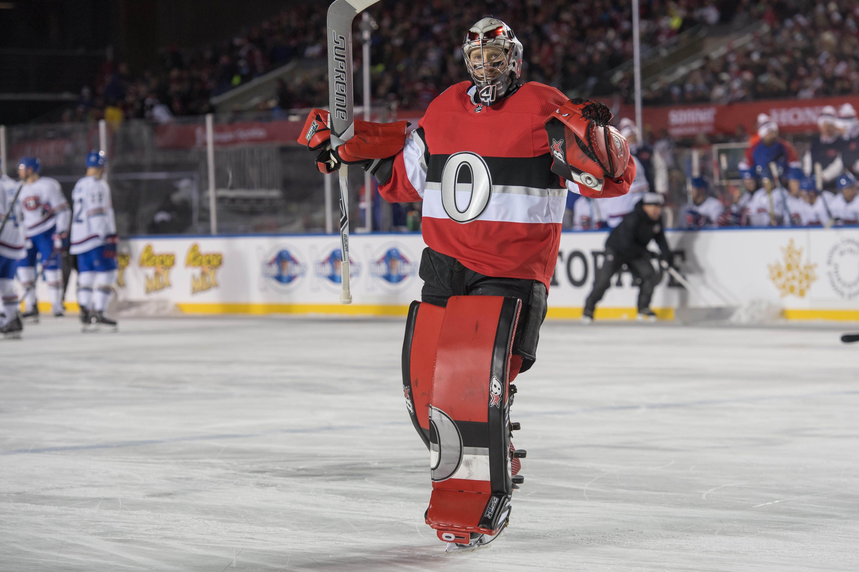 Senators shut out Canadiens in outdoor NHL 100 Classic
