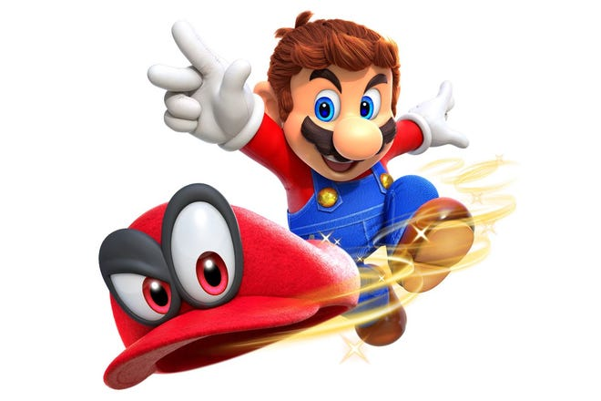 Exclusively available for Nintendo Switch, Super Mario Odyssey is easy to pick up but impossible to put down.