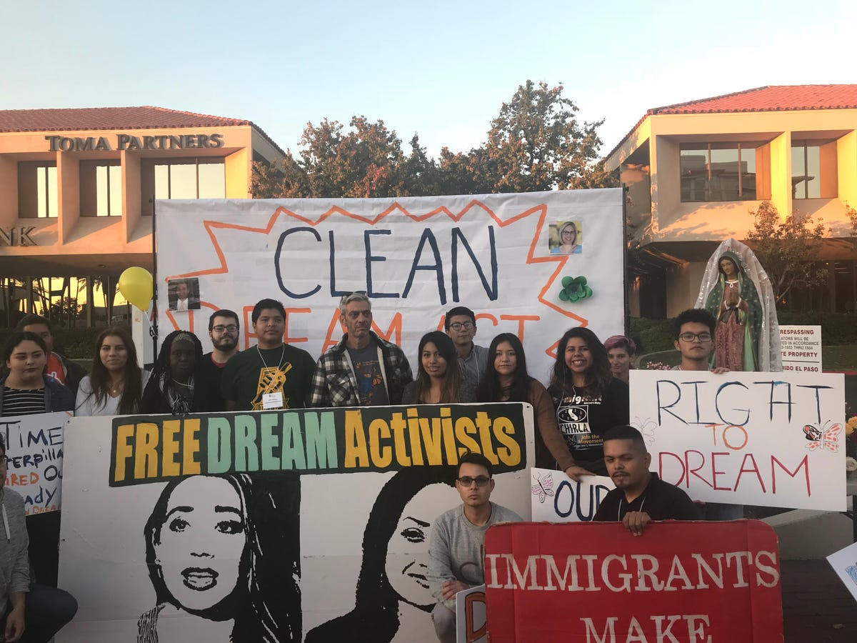 DACA protest outside Flake's office latest in regular demonstrations