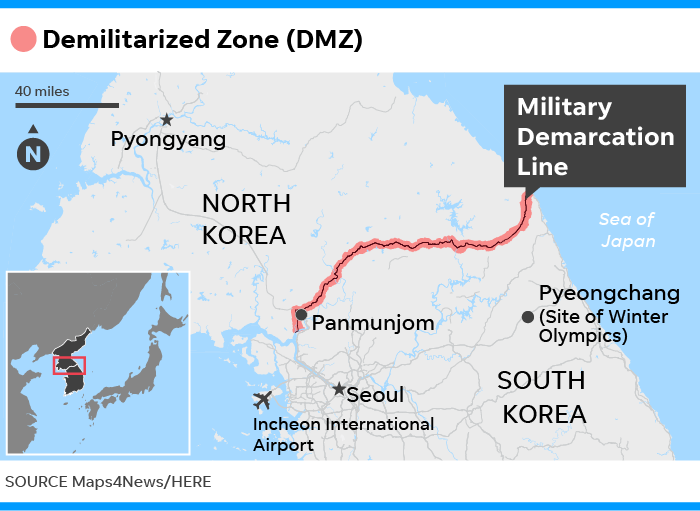 DMZ What the Demilitarized Zone between North and South Korea is like