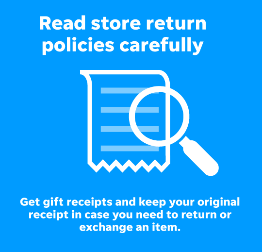 Return time: Don't settle for a gift you don't like
