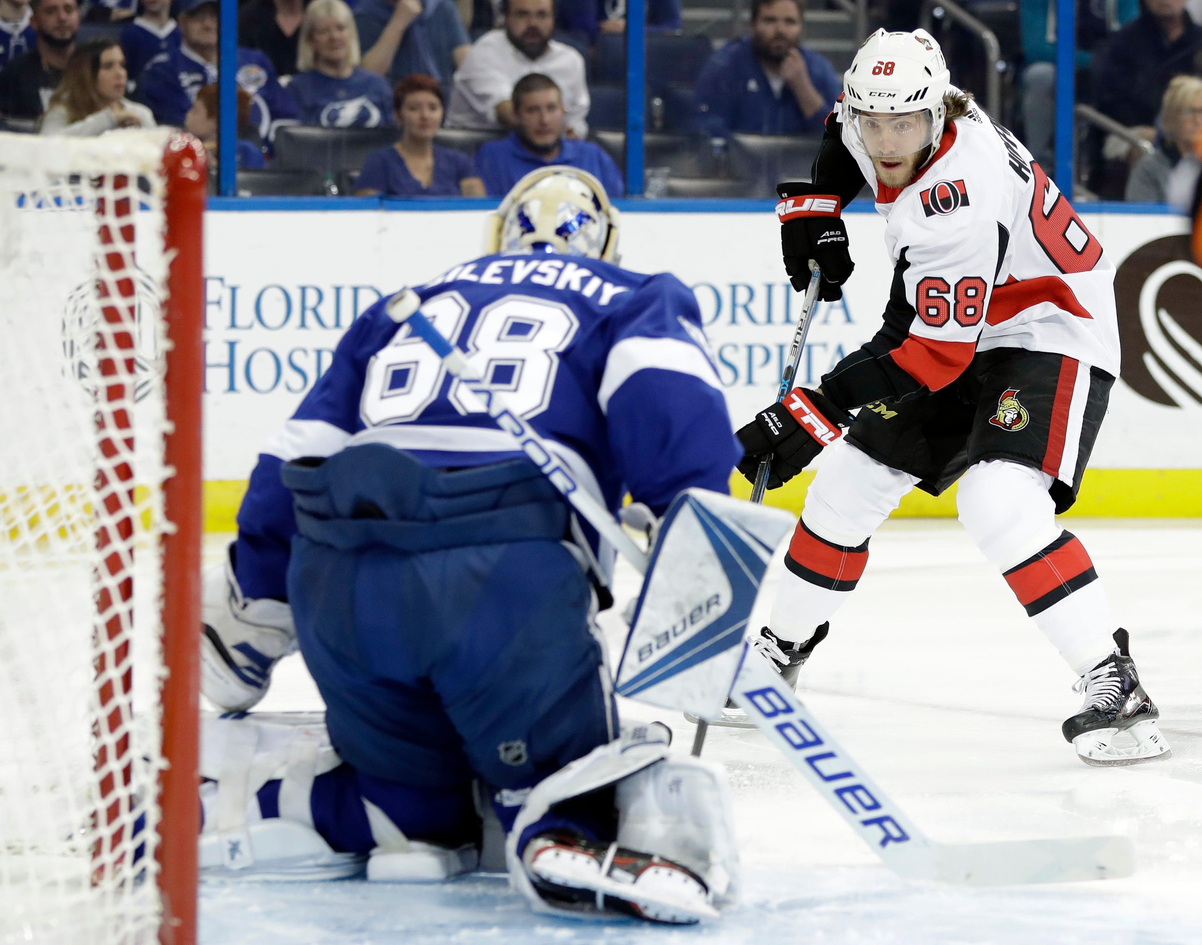 Point, Stamkos score in shootout as Lightning beat Senators