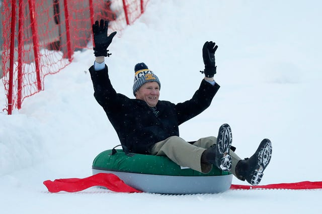 Packers open tubing hill in Titletown District