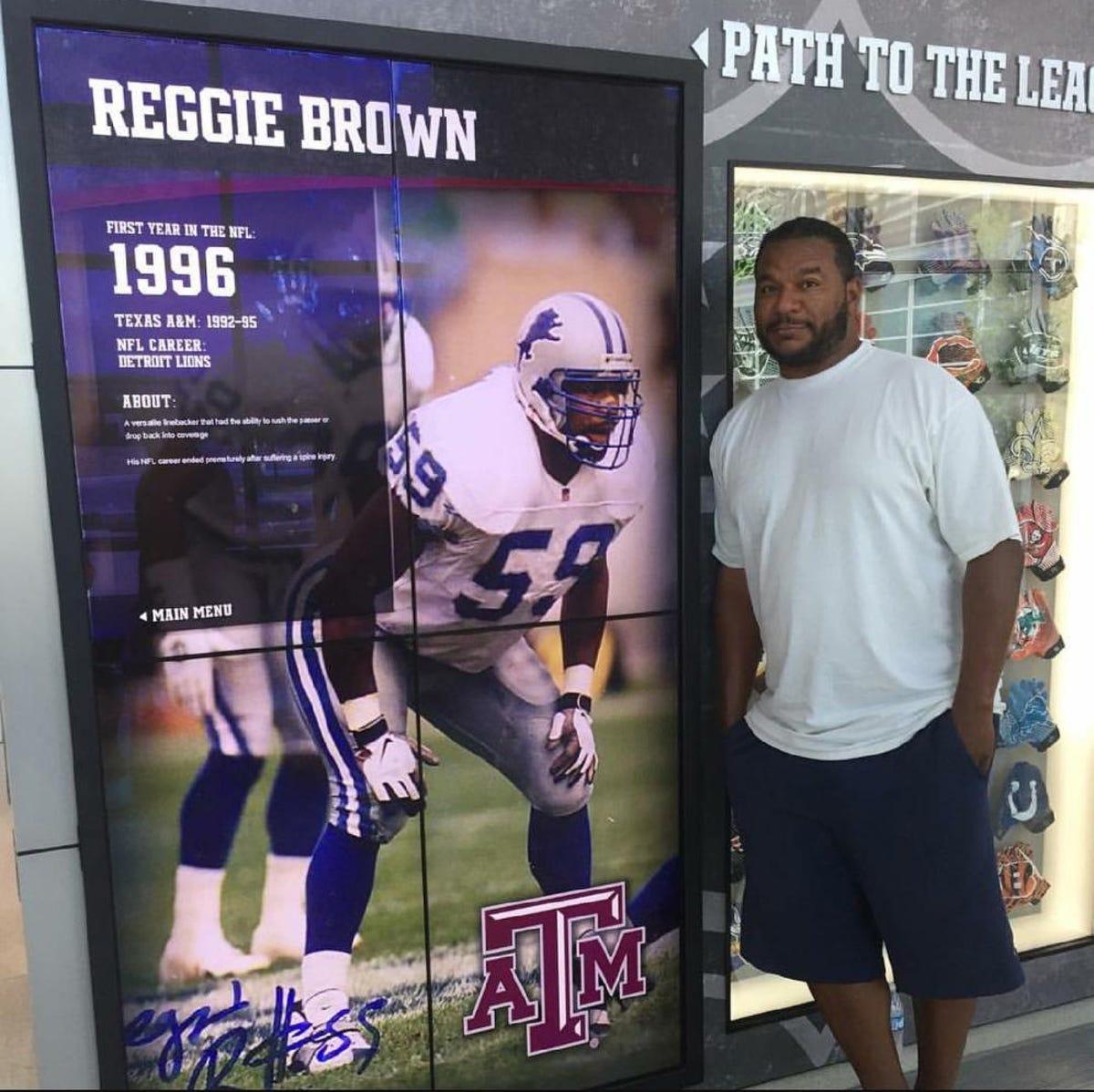 He's not breathing': Ex-Lion Reggie Brown recalls fateful day