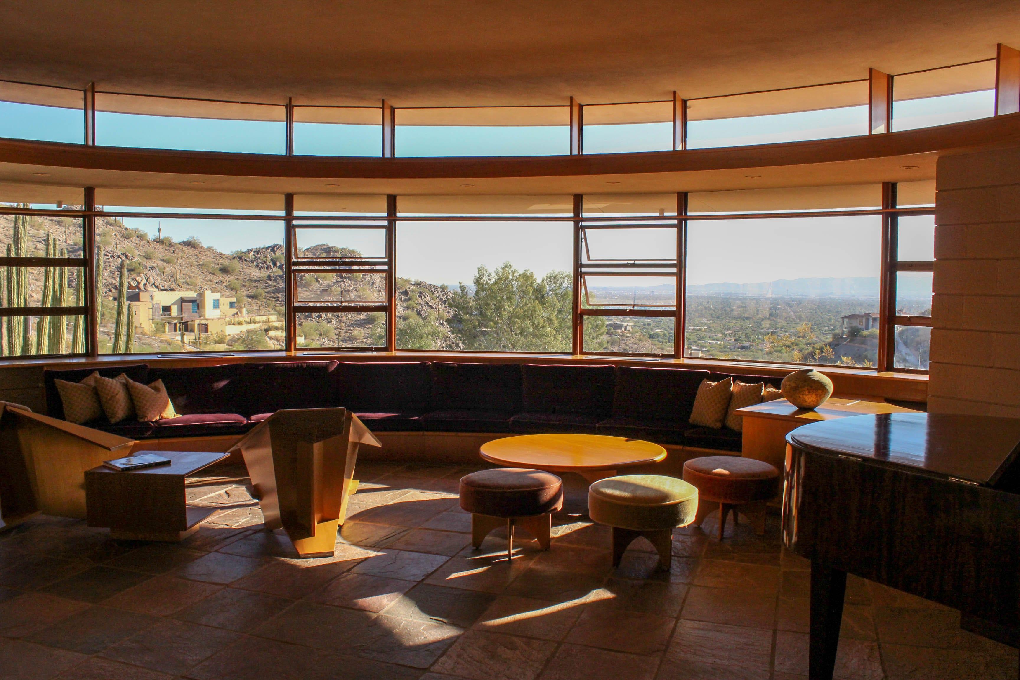 Frank Lloyd Wright Interior Design King5  The Last House Frank Lloyd Wright Ever Designed Up For