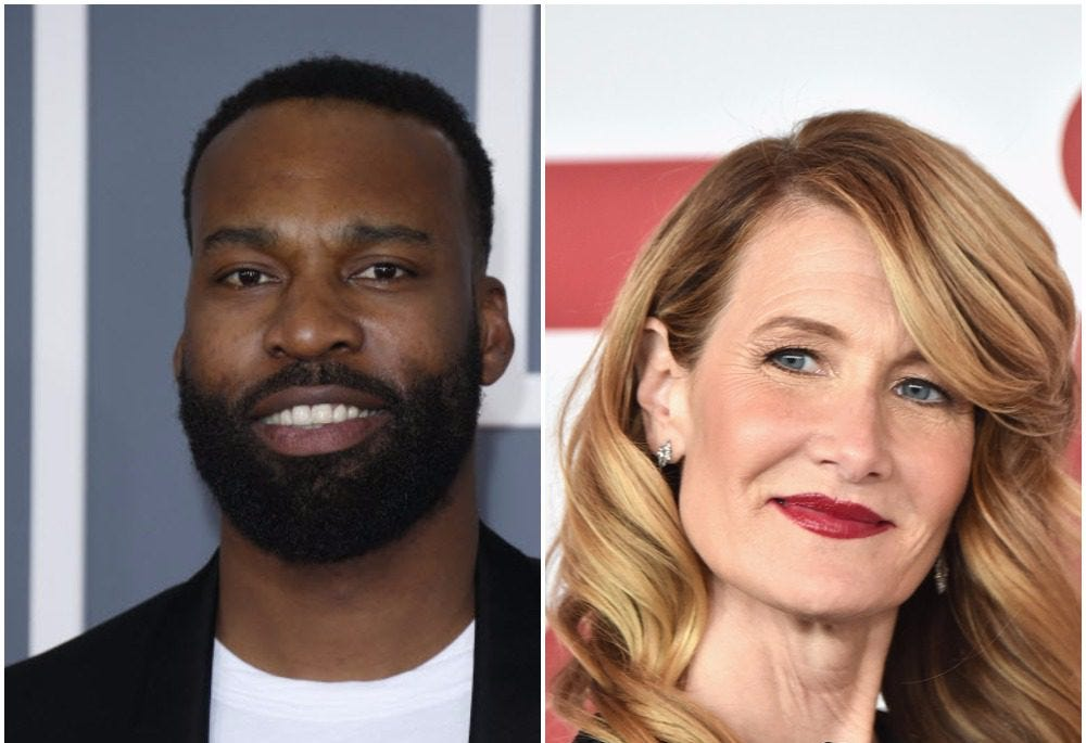 Are Baron Davis and Laura Dern dating?