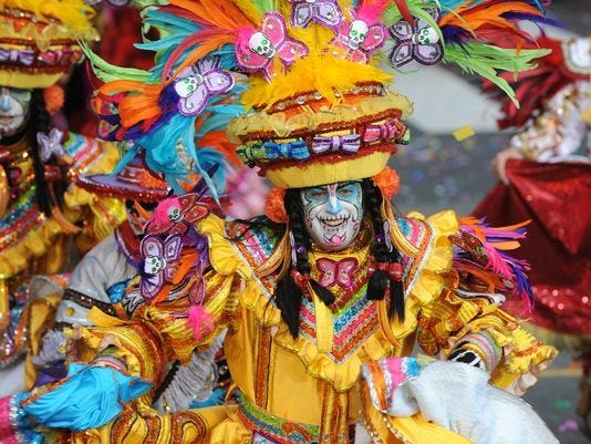 The Mummers Parade will be held Monday despite expected cold weather.