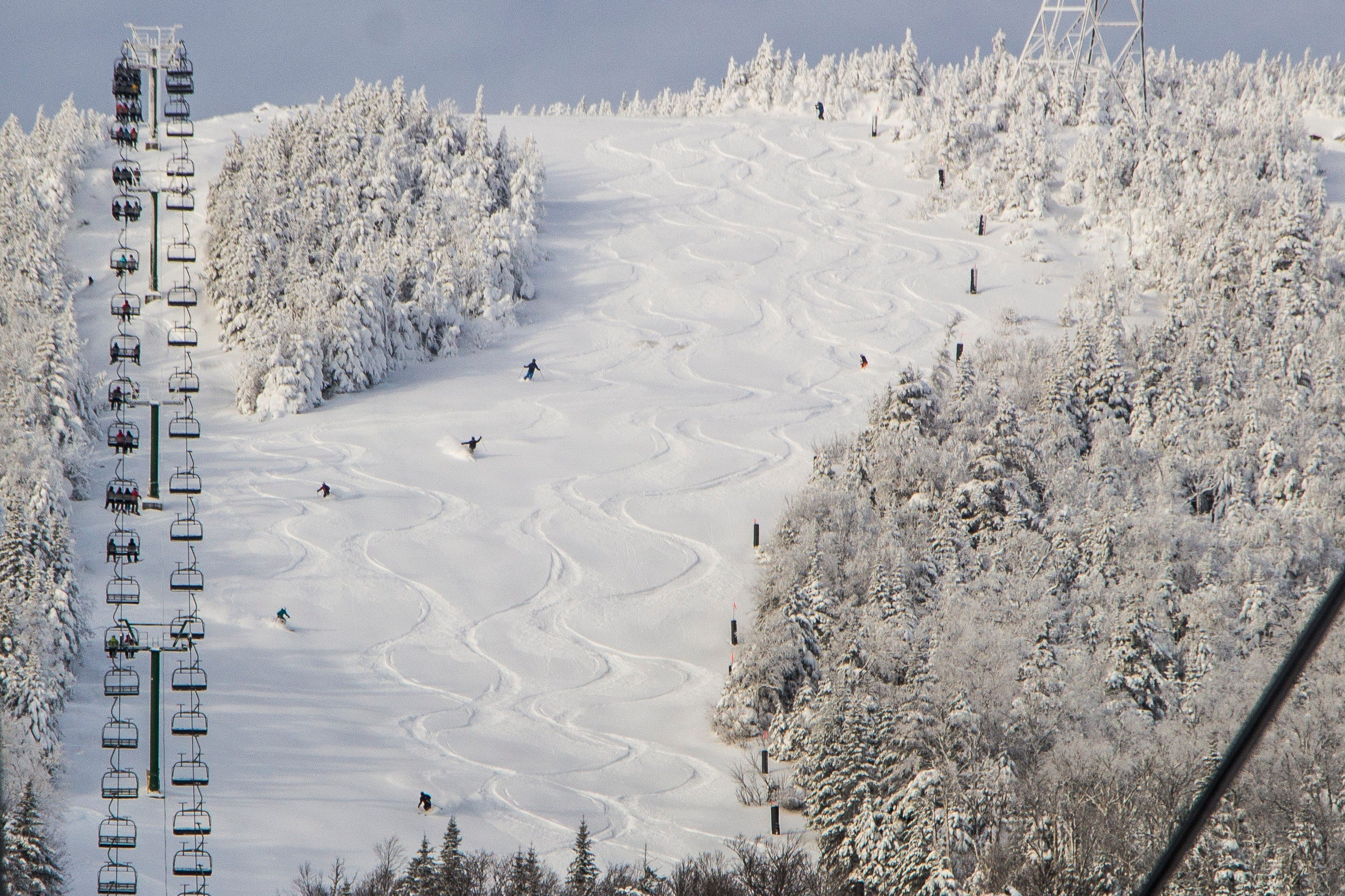Jay Peak Resort, just a few miles from the Canadian border in Vermont, boasts the most snow on the East Coast. A series of expansions funded by foreign investors through the EB-5 economic development program, such as a climbing wall and golf course cottages, allowed the resort to increase its appeal to year-round visitors.