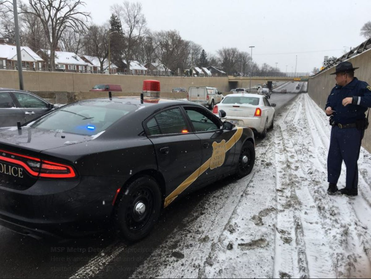 Michigan State Police crack down on Southfield Freeway