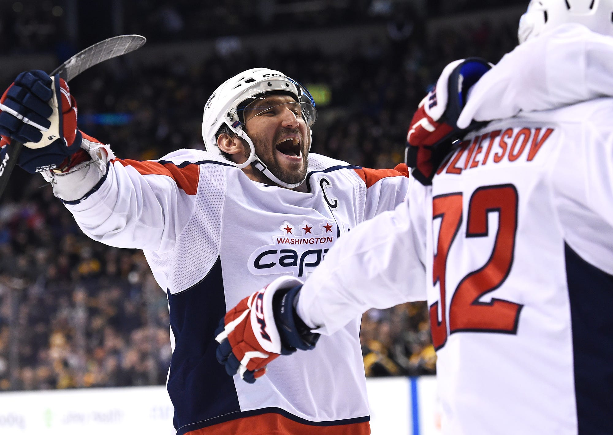 Alex Ovechkin on pace for 50-goal season at 32