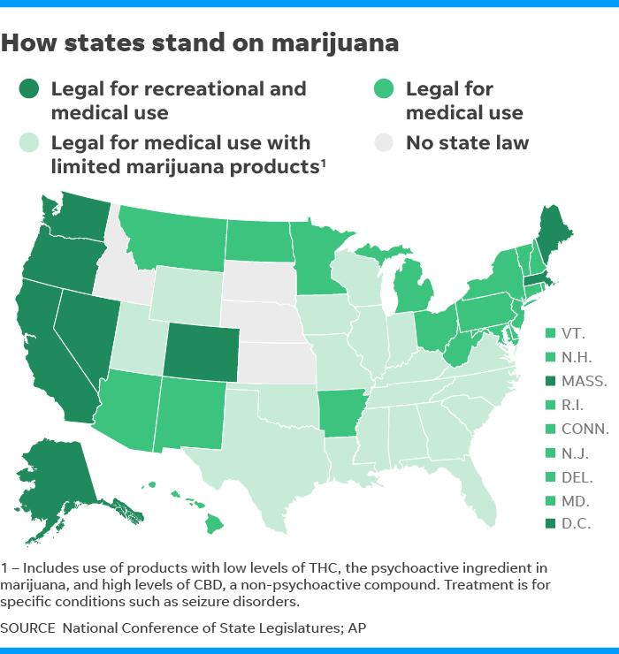 Marijuana Growing Areas California Map.Marijuana Industry Dismissing Fears Of Federal Interference