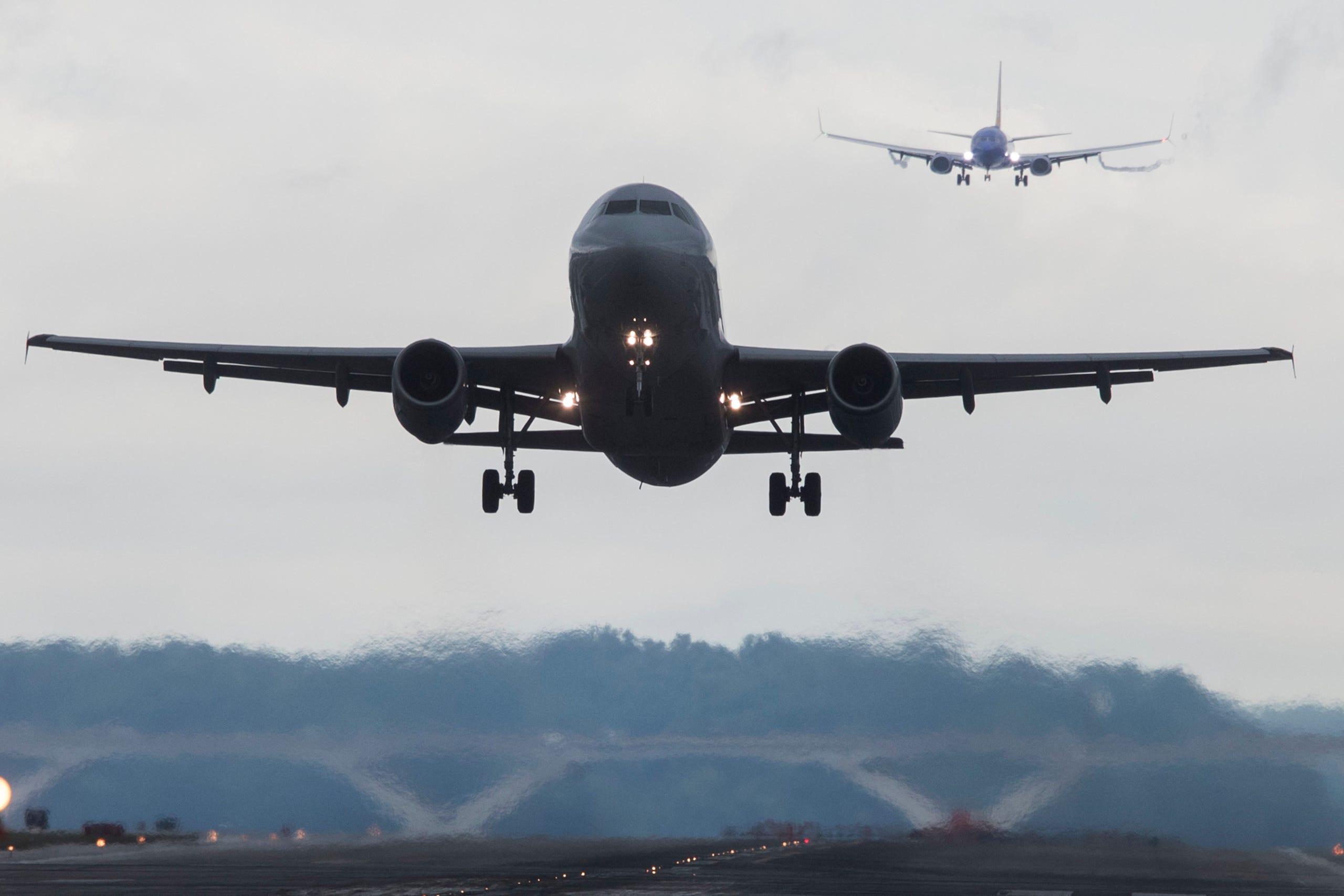 Resultado de imagen para air traffic airlines US