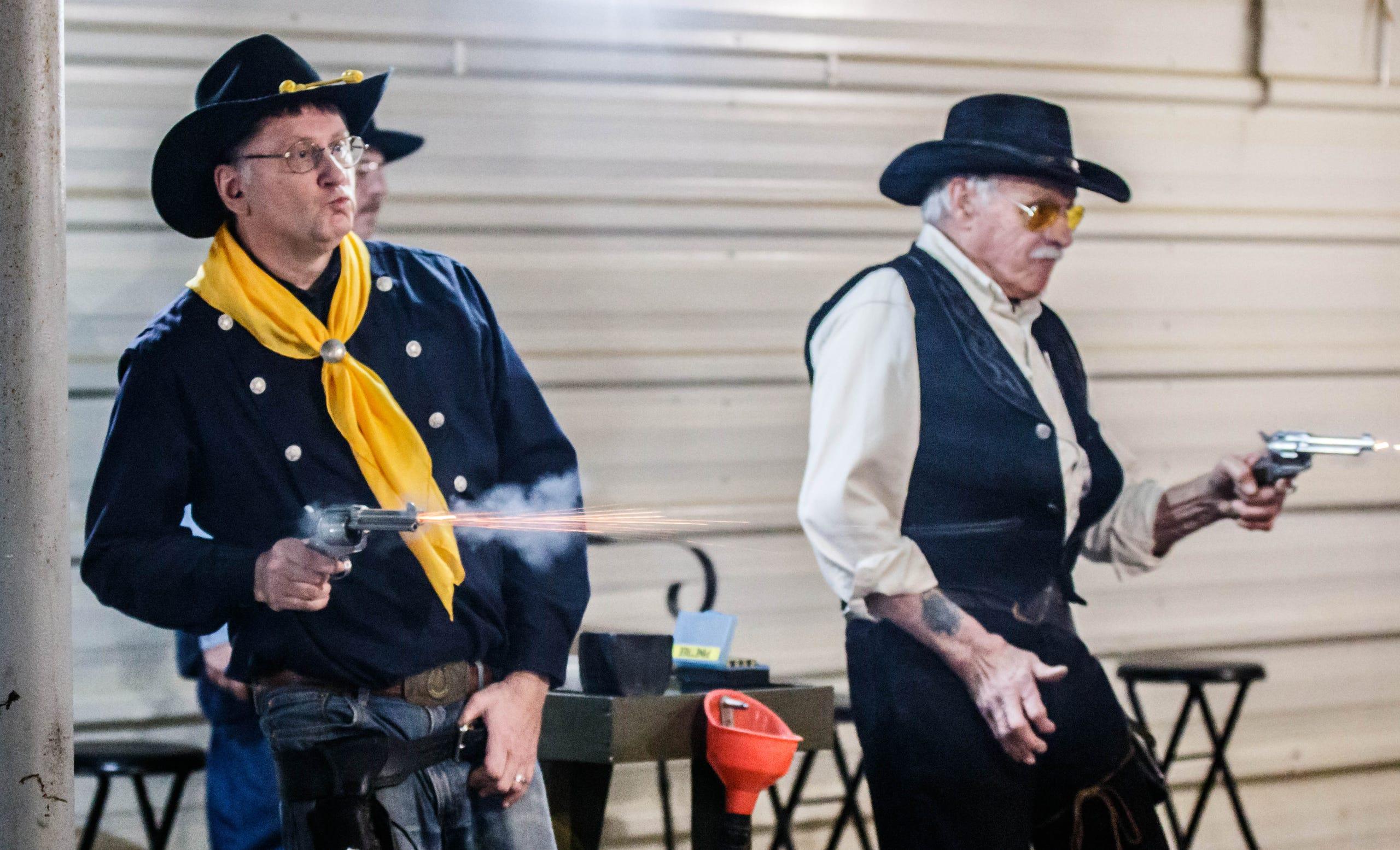 Prairieville Desperados Cowboy Fast Draw Competition